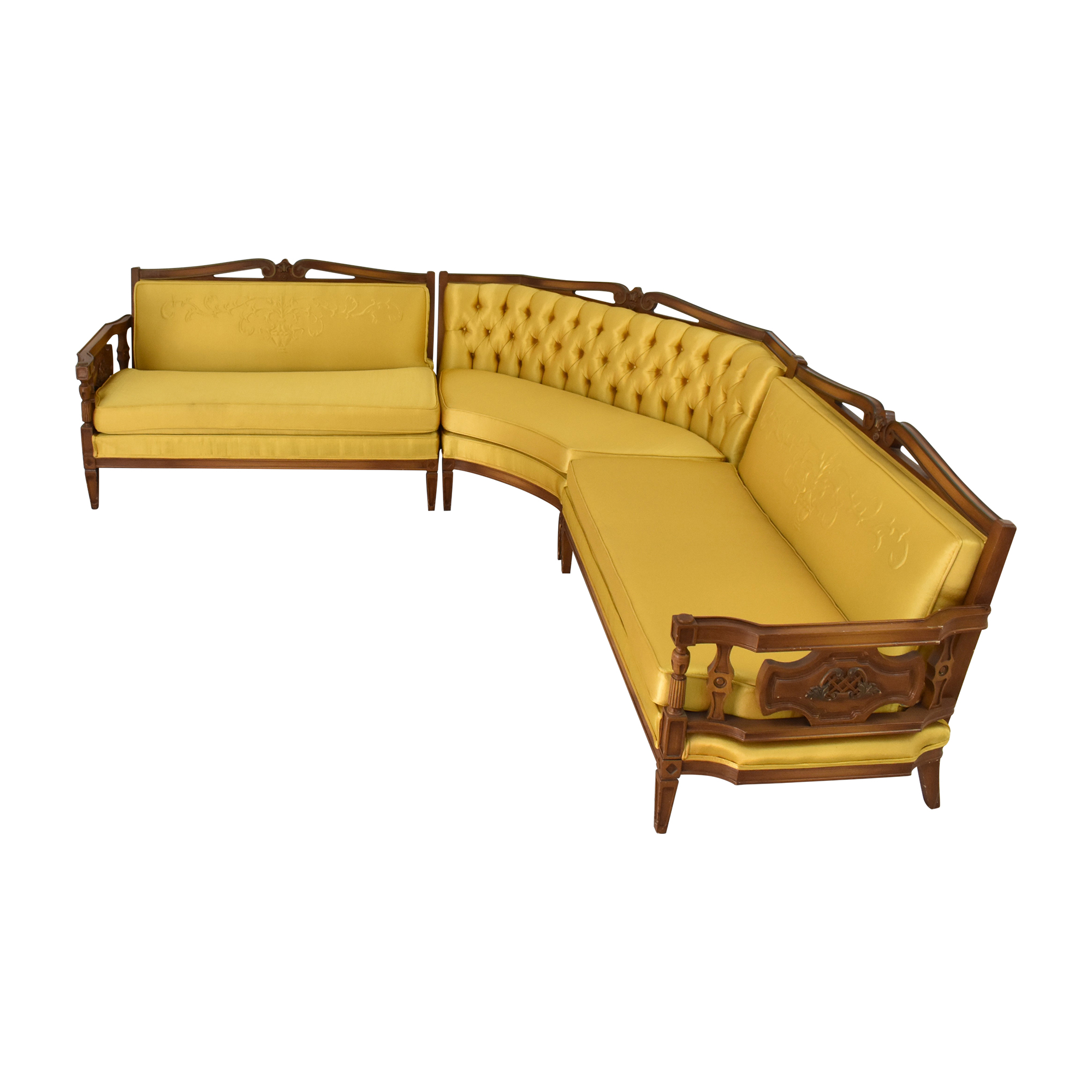 buy Vintage Style Sectional Sofa  Sectionals