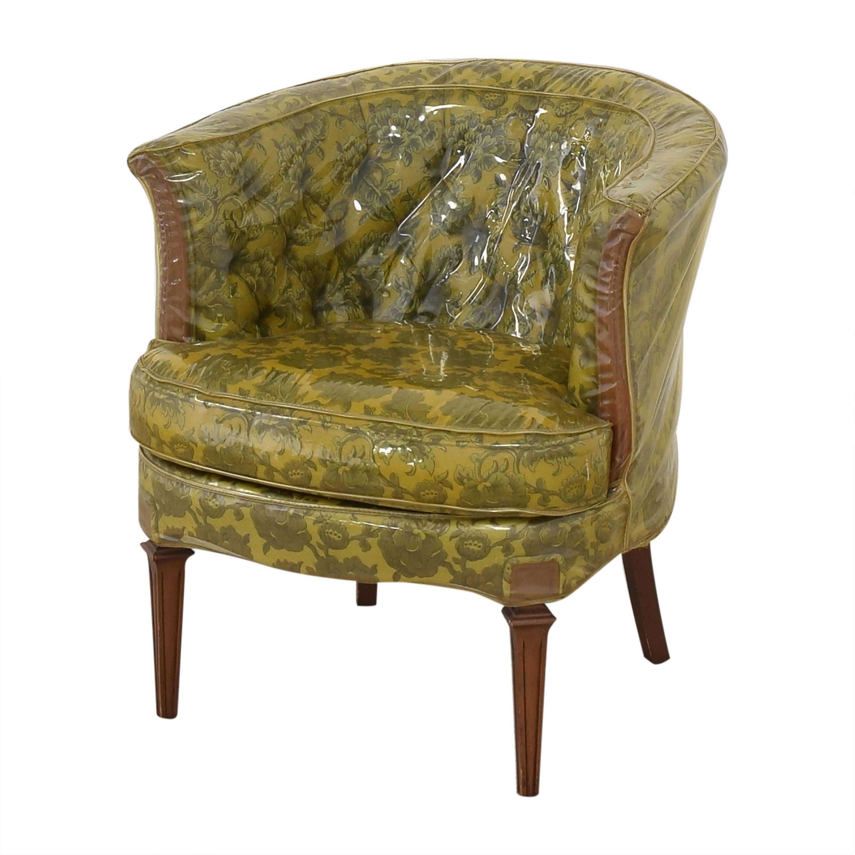shop Vintage Barrel Style Armchair  Chairs