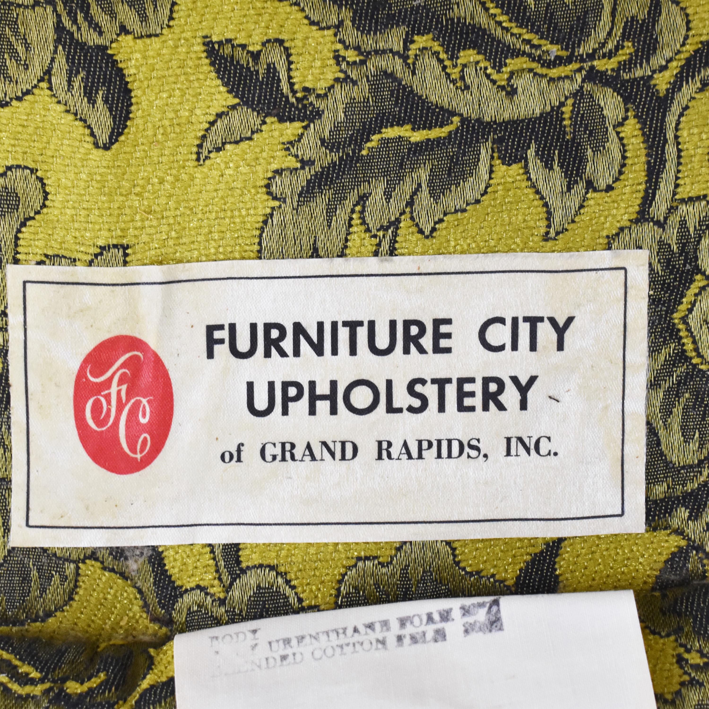 Vintage Barrel Style Armchair price