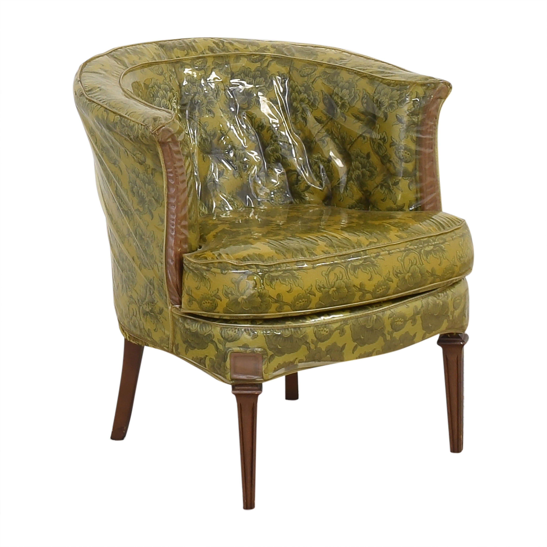 Vintage Barrel Style Armchair second hand