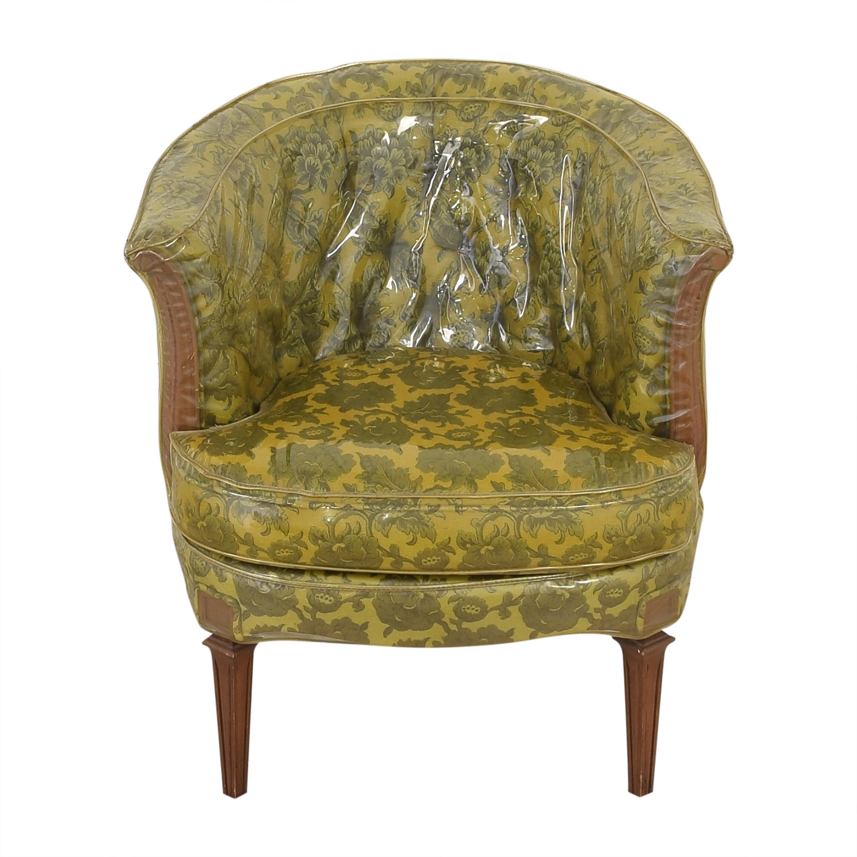 Vintage Barrel Style Armchair ct