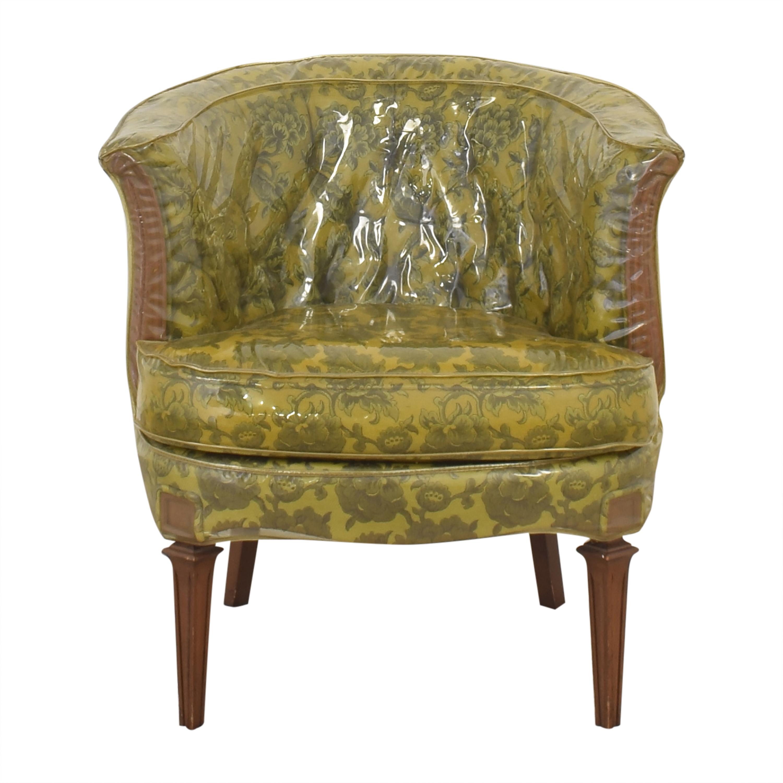 Vintage Barrel Style Armchair pa