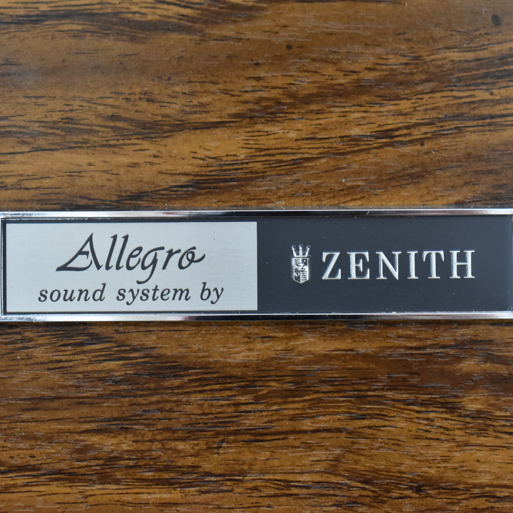 buy Zenith Allegro Vintage Console Stereo