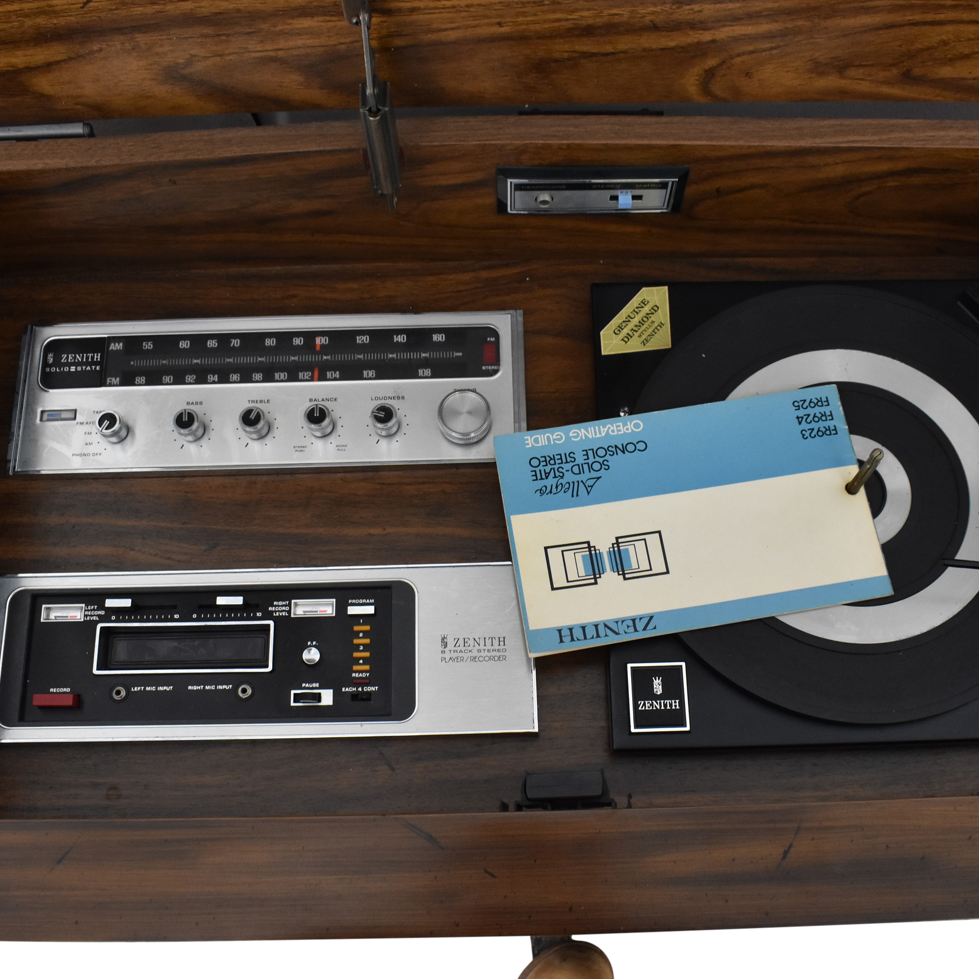 Zenith Allegro Vintage Console Stereo nyc