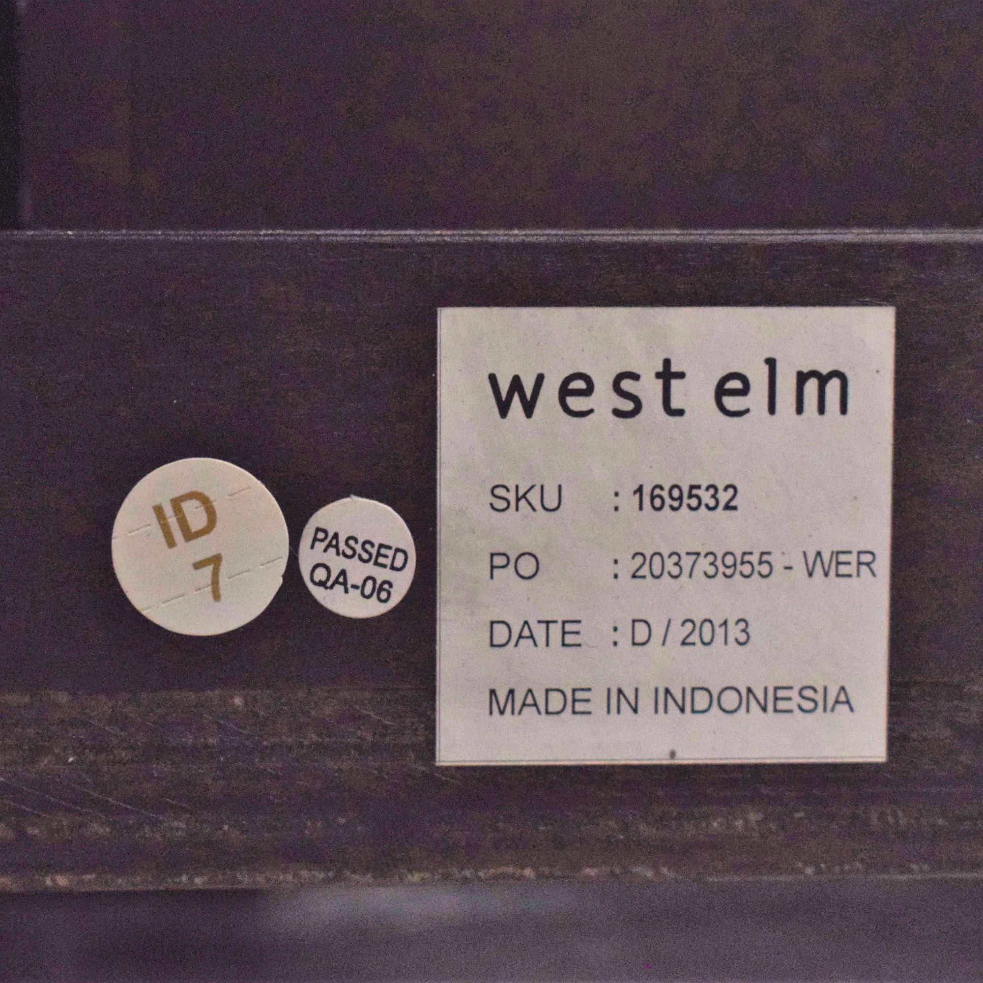West Elm West Elm Queen Six Drawer Storage Bed ct