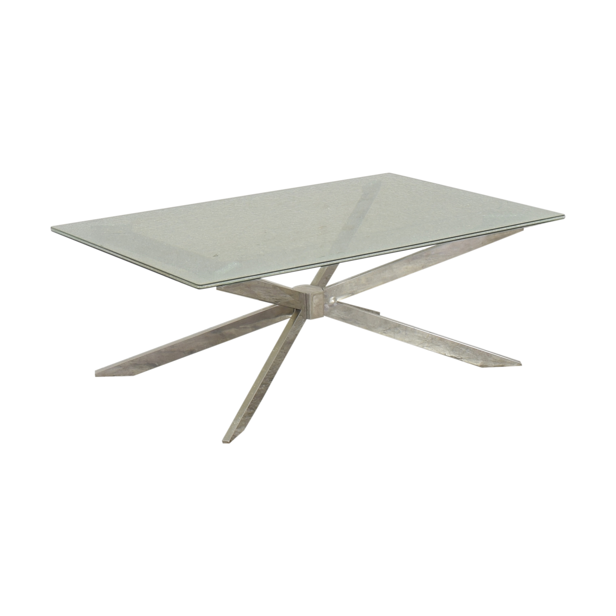 Raymour & Flanigan Raymour & Flanigan Contemporary Cocktail Table for sale
