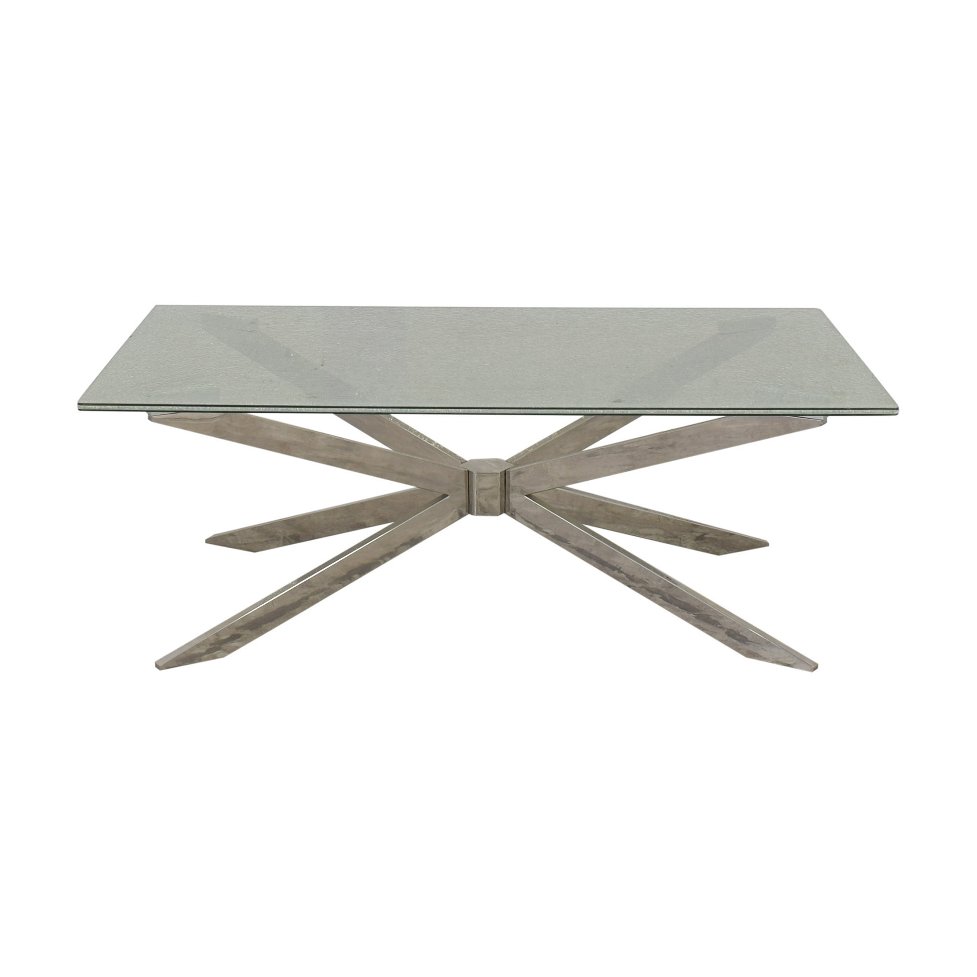 Raymour & Flanigan Contemporary Cocktail Table sale