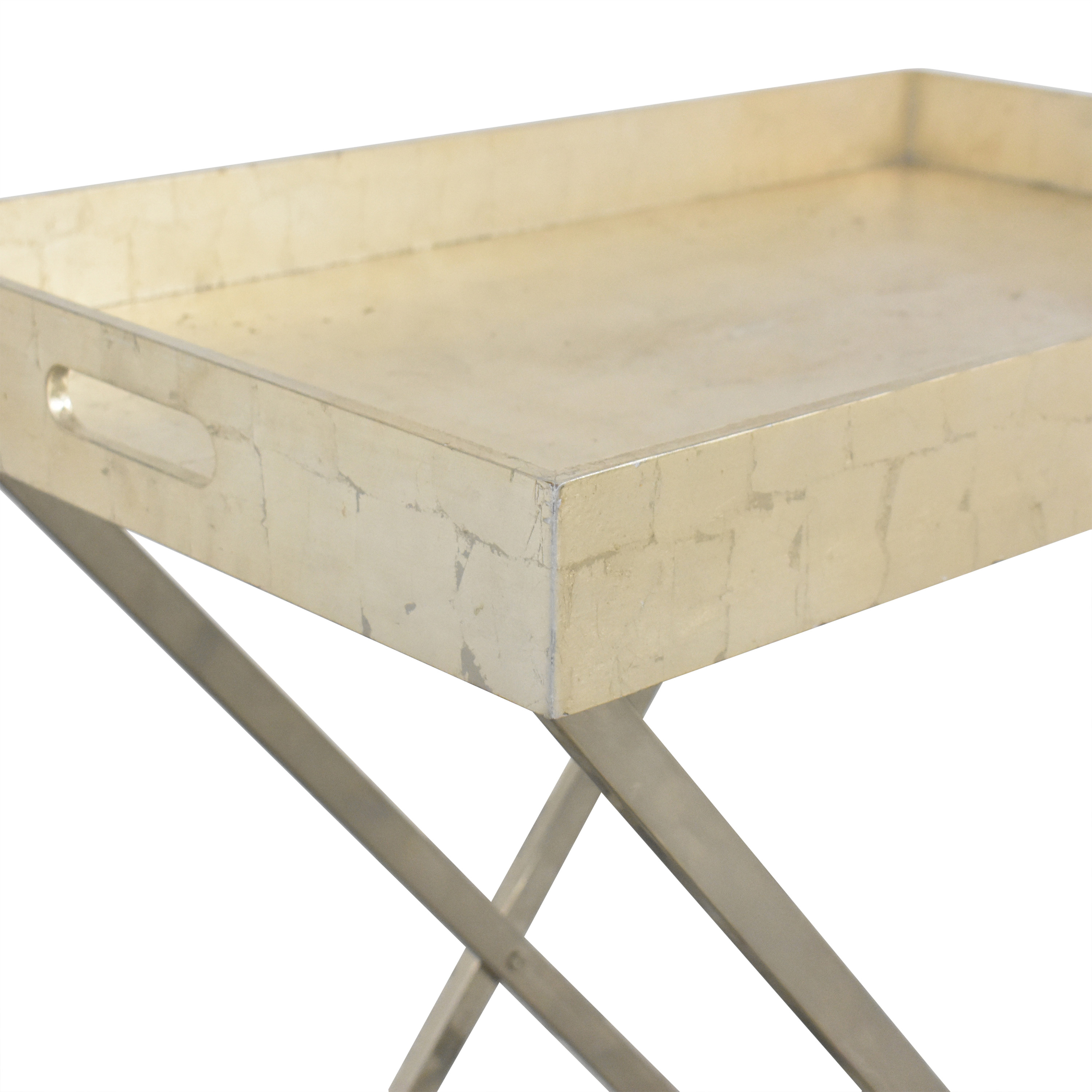 West Elm West Elm Butler Tray with Stand used