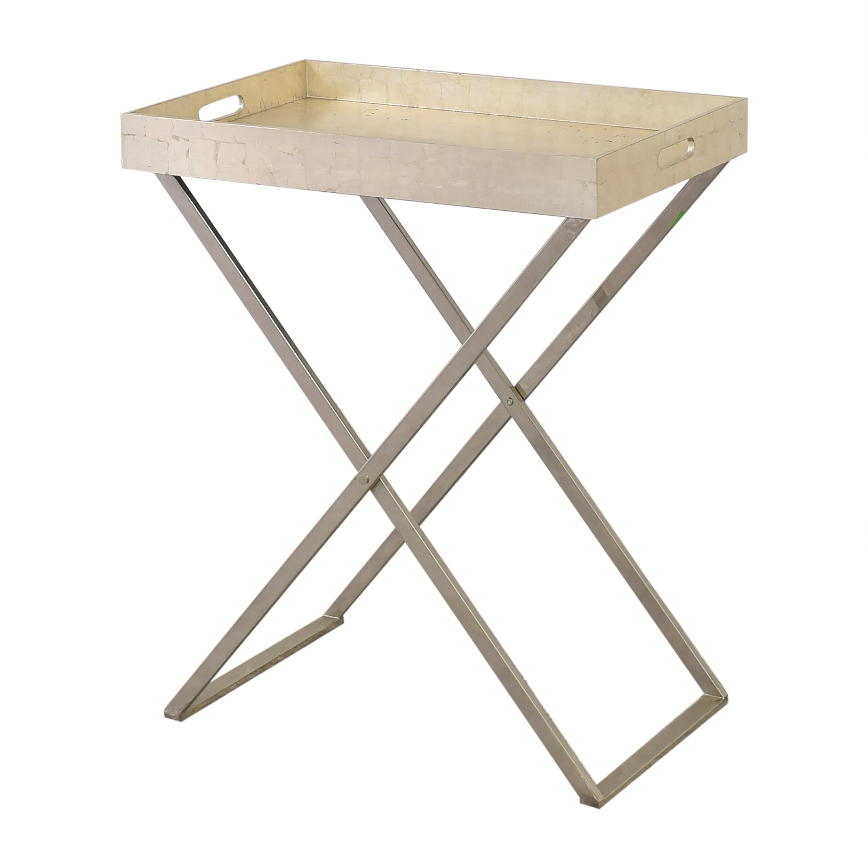 West Elm West Elm Butler Tray with Stand pa