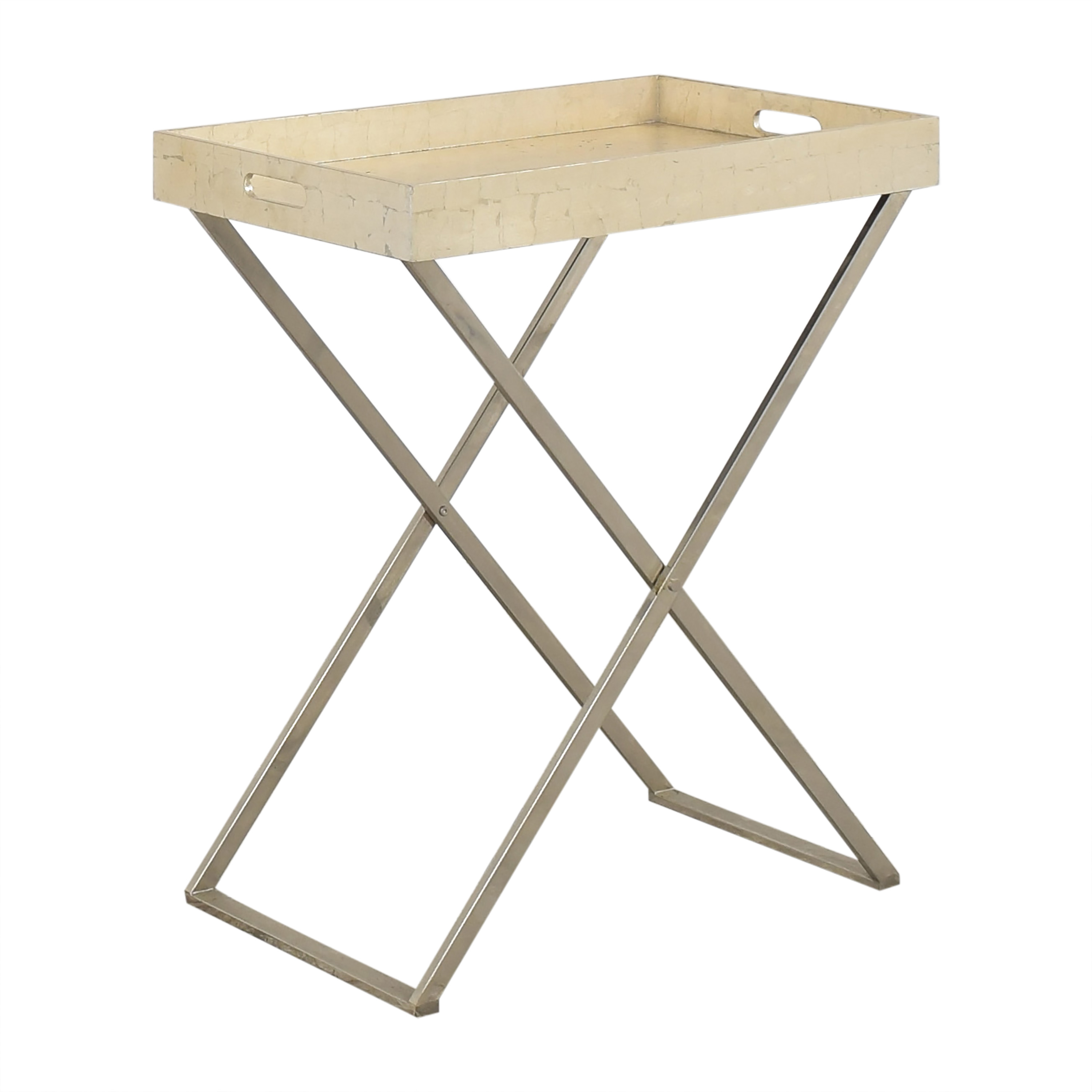 West Elm Butler Tray with Stand / Tables