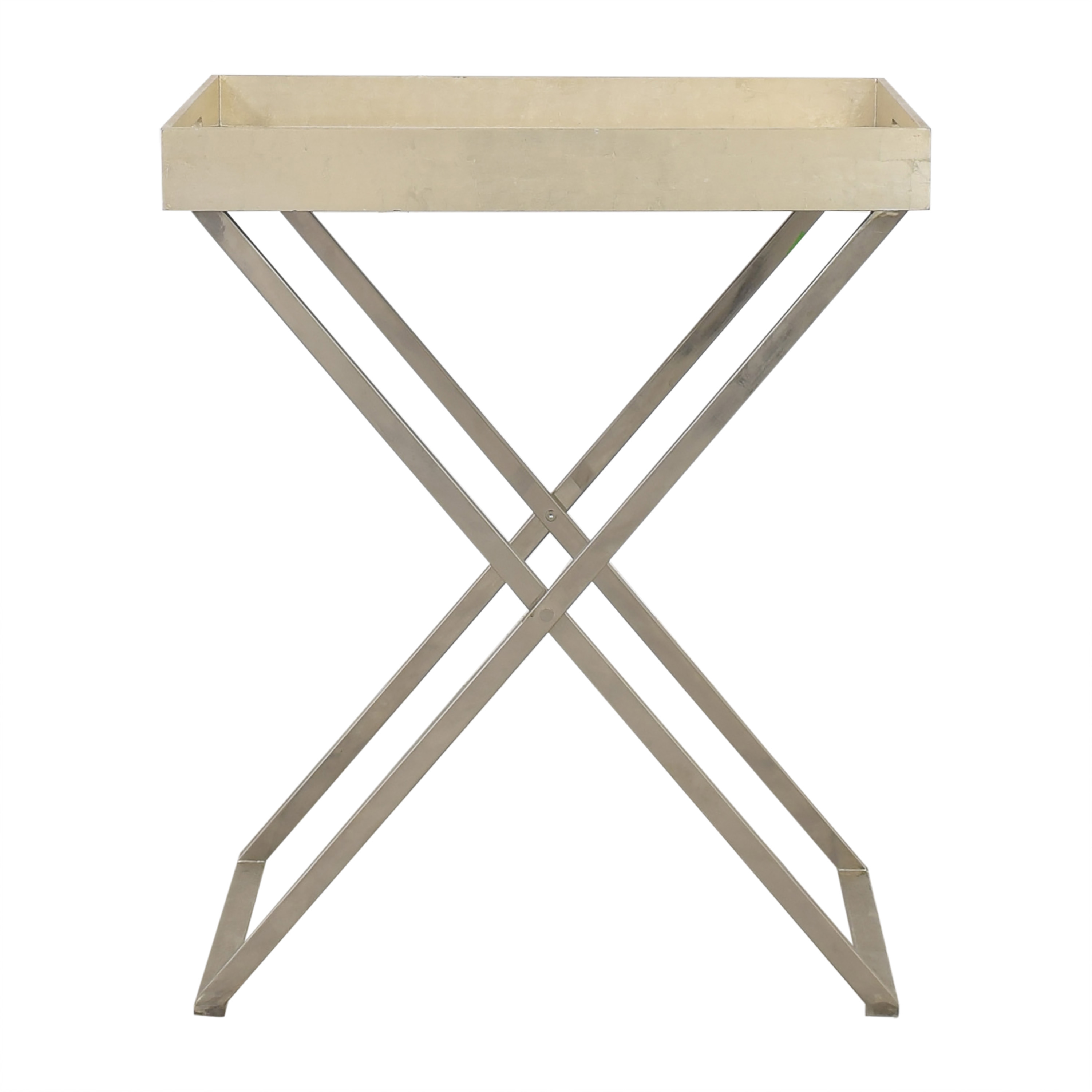 shop West Elm Butler Tray with Stand West Elm
