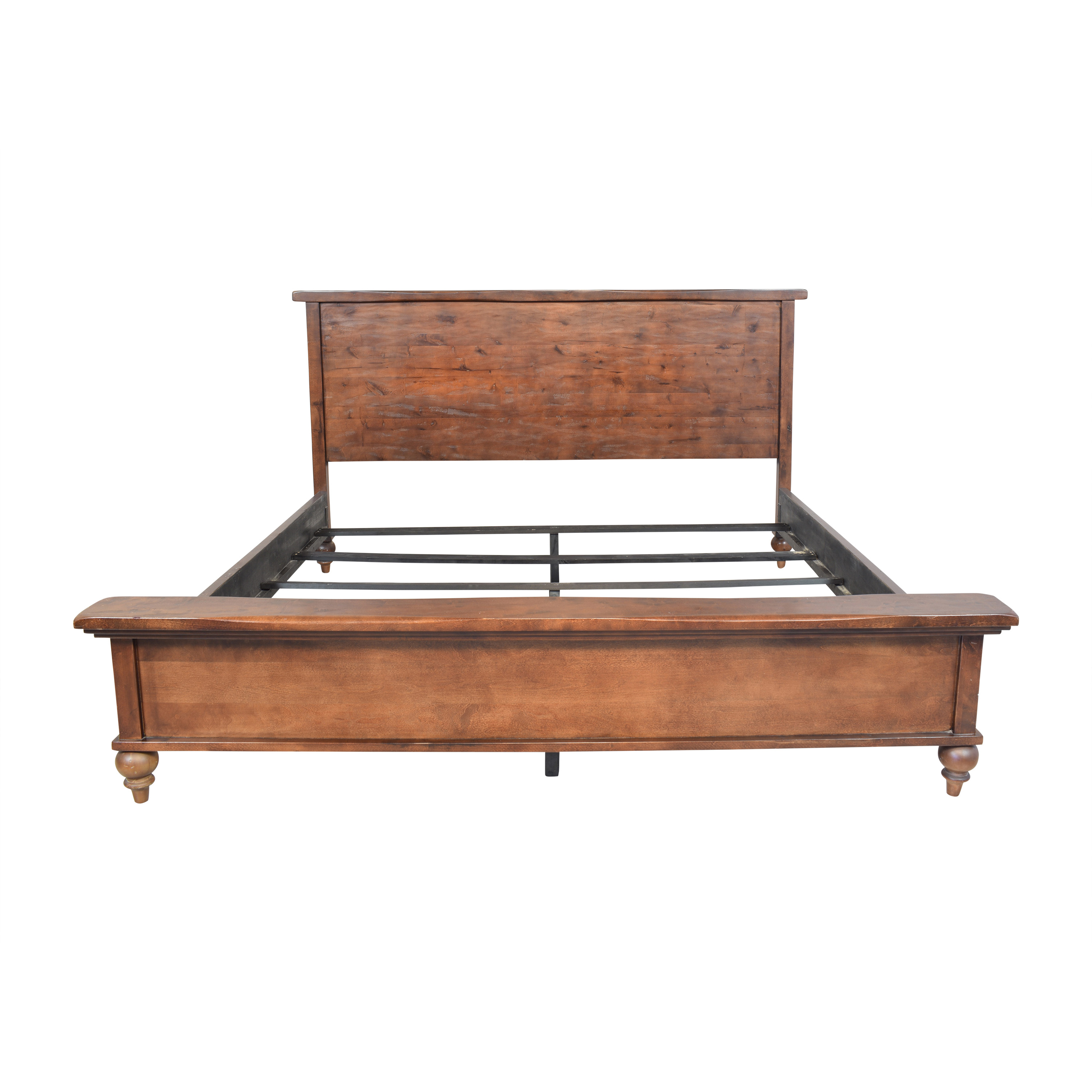 Traditional Style King Bed