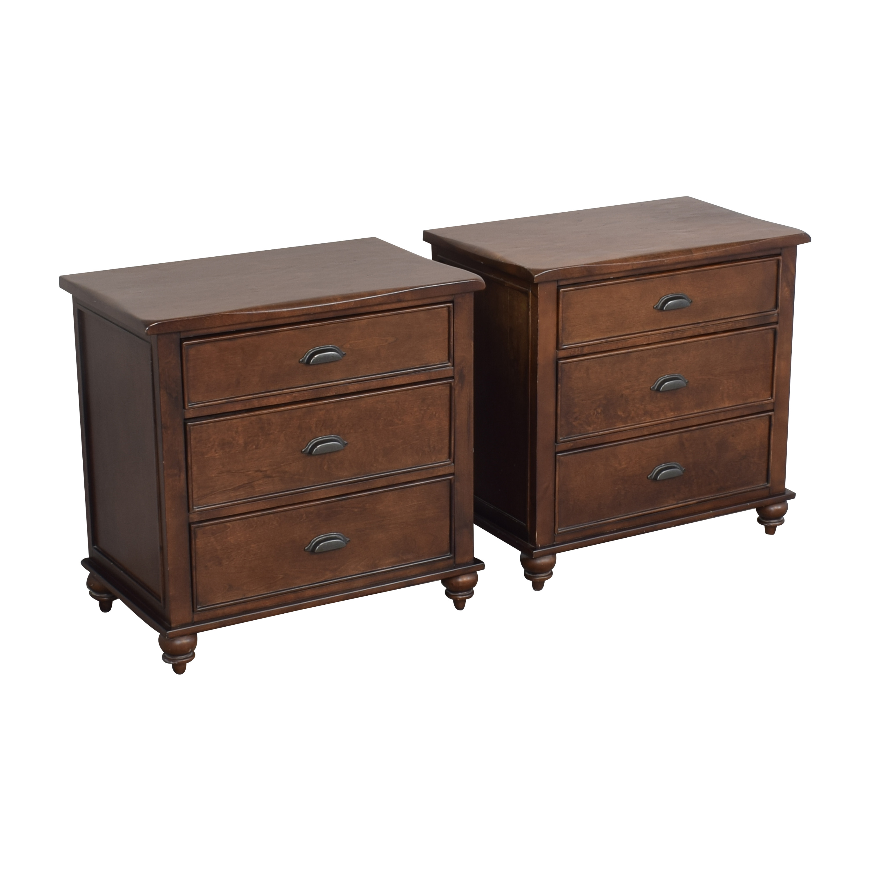 Three Drawer Nightstands pa
