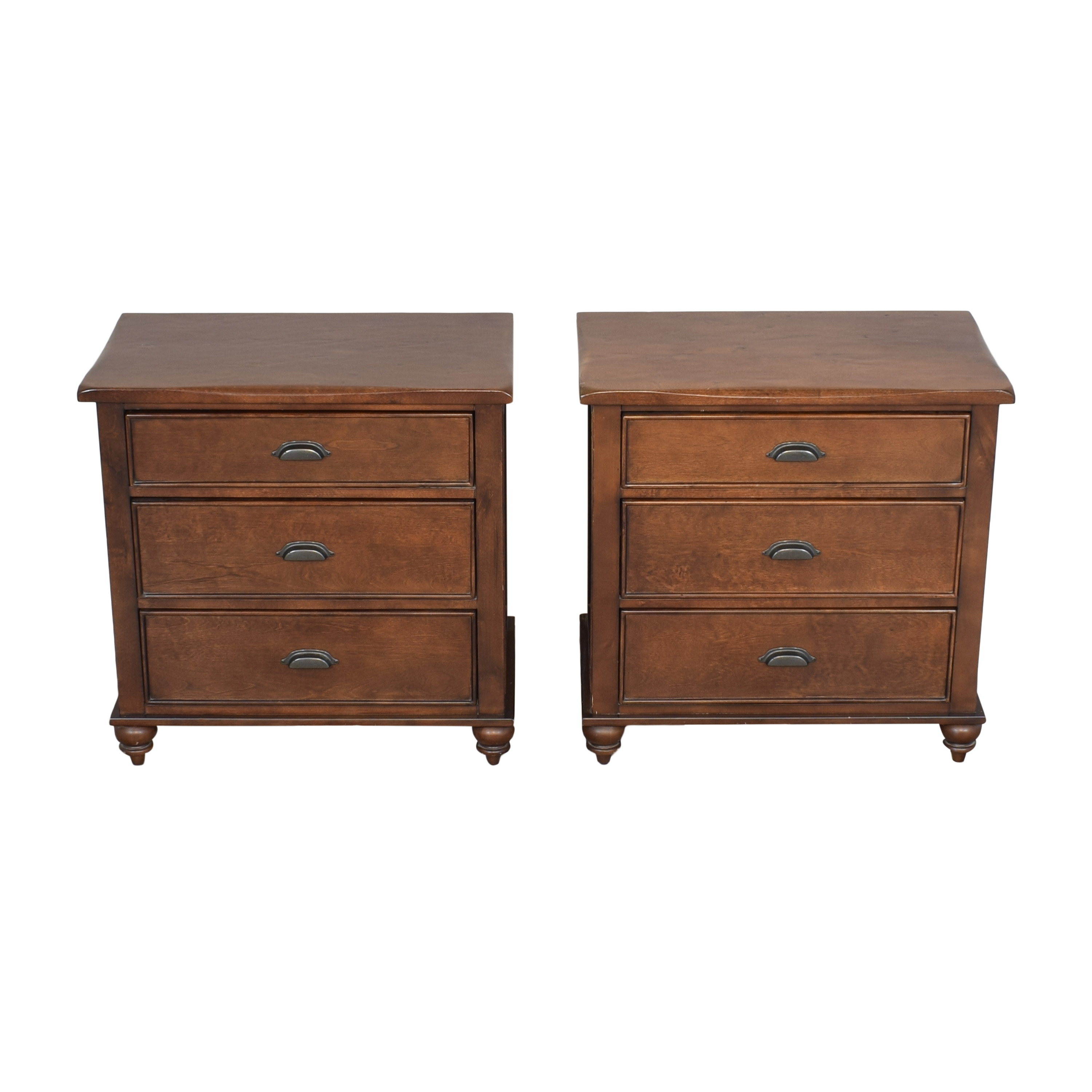 buy Three Drawer Nightstands  End Tables