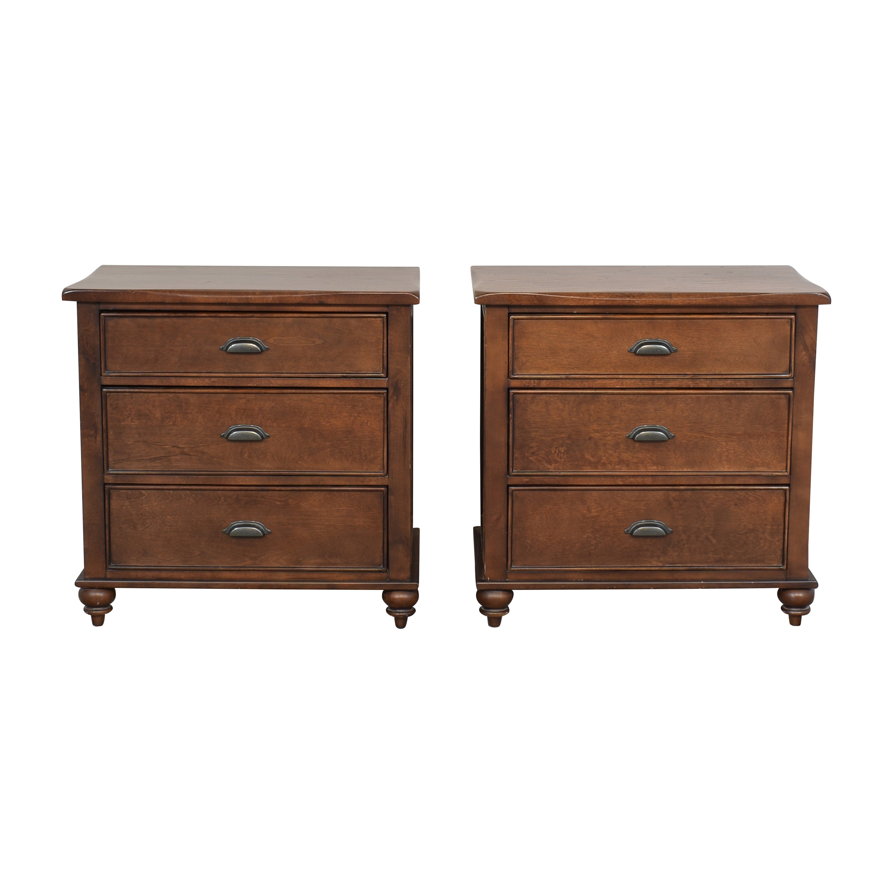 Three Drawer Nightstands ma