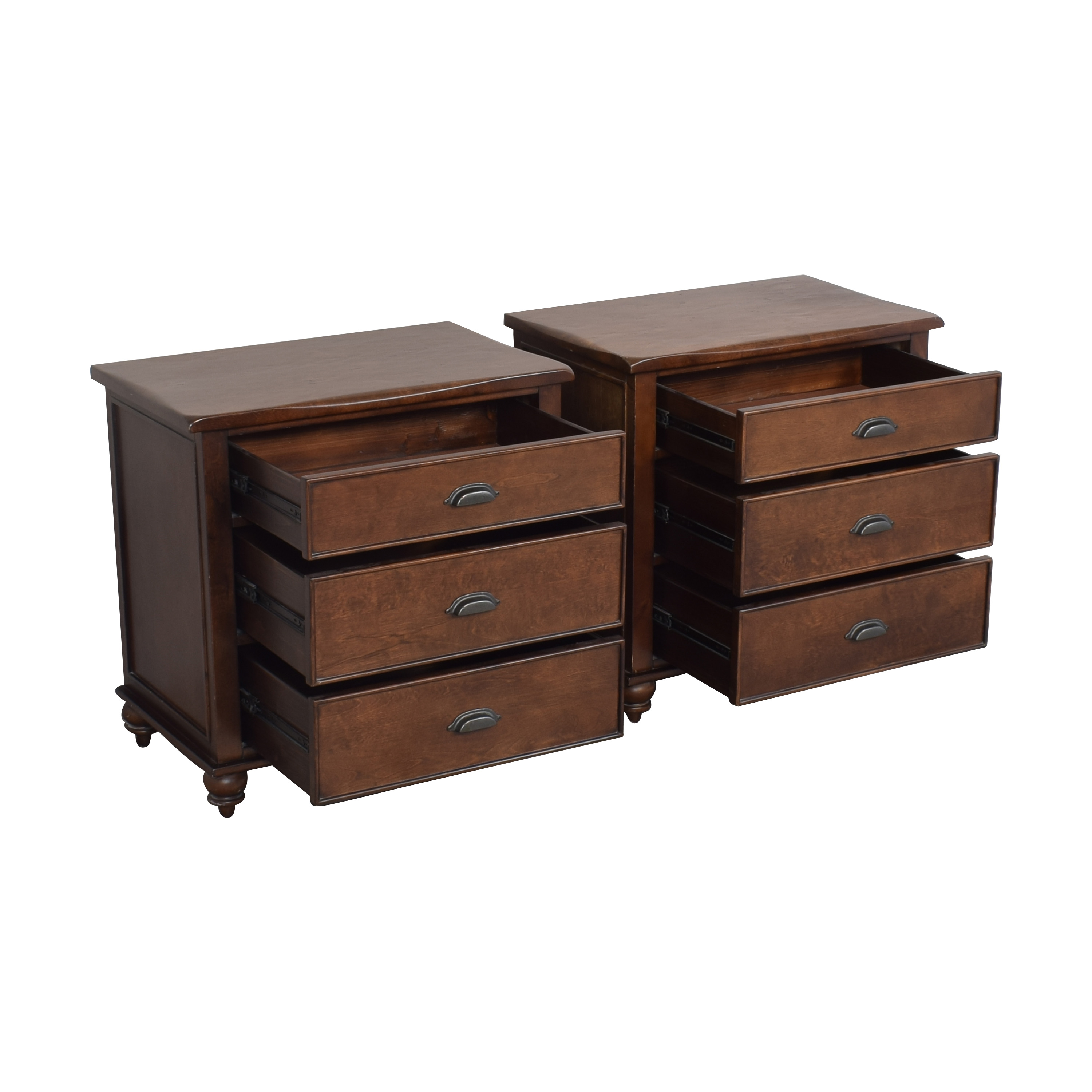 buy Three Drawer Nightstands  Tables
