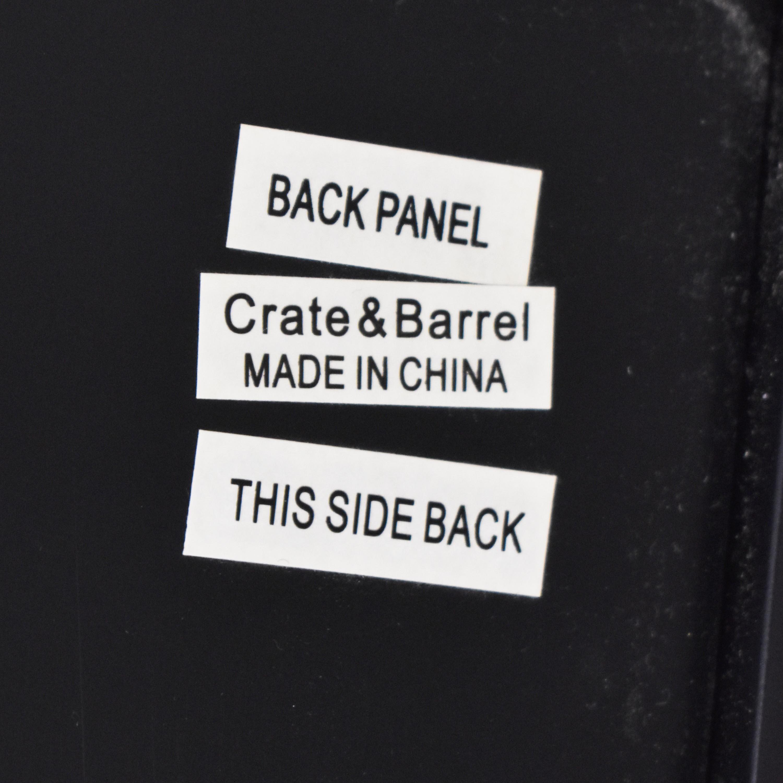 Crate & Barrel Tall Bookcase Crate & Barrel