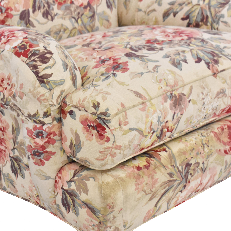 William Alan William Alan Floral Accent Chair ct