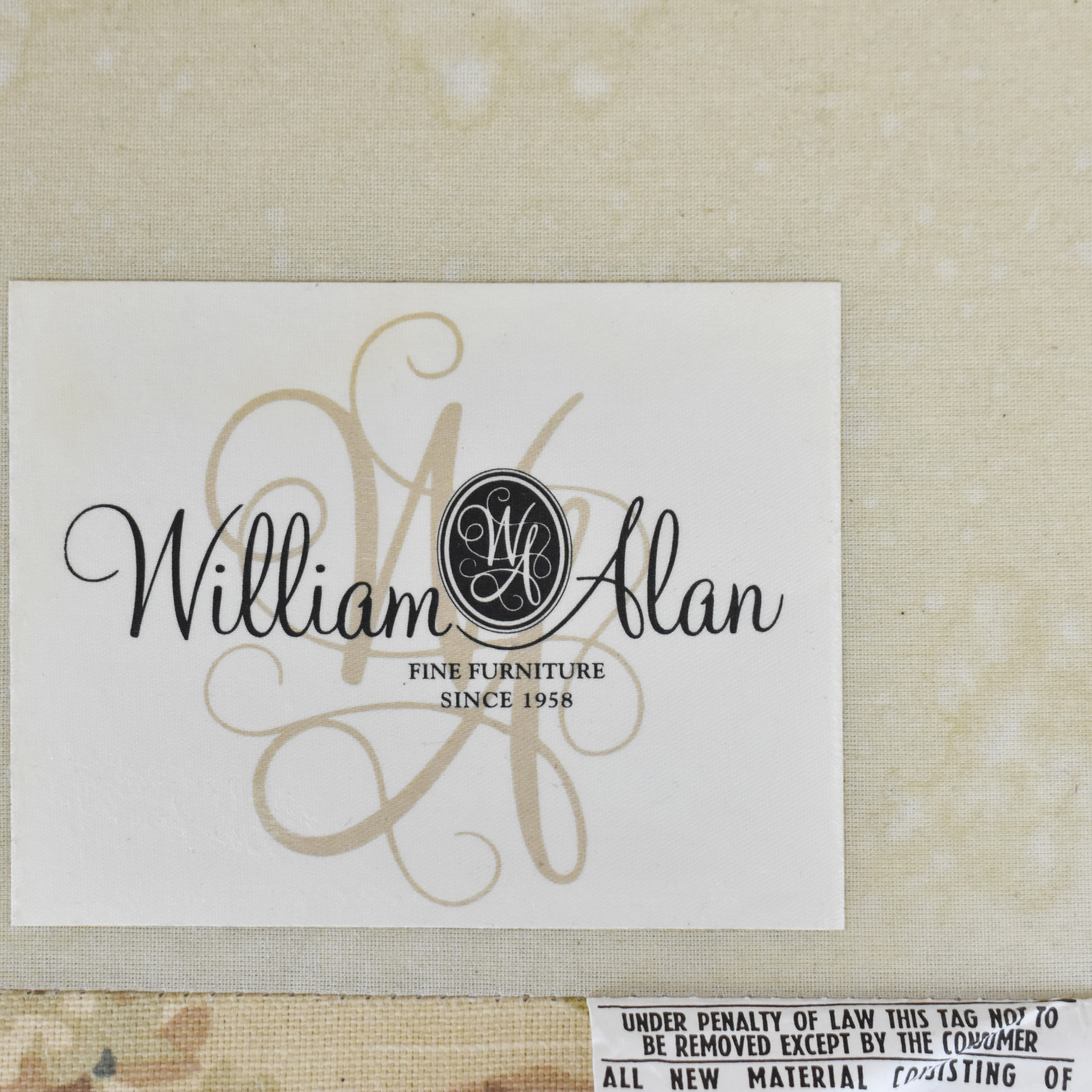 William Alan William Alan Floral Accent Chair nyc