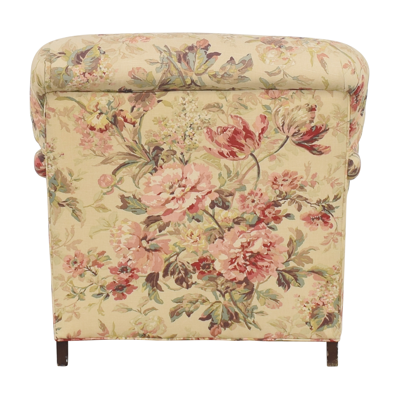 shop William Alan Floral Accent Chair William Alan
