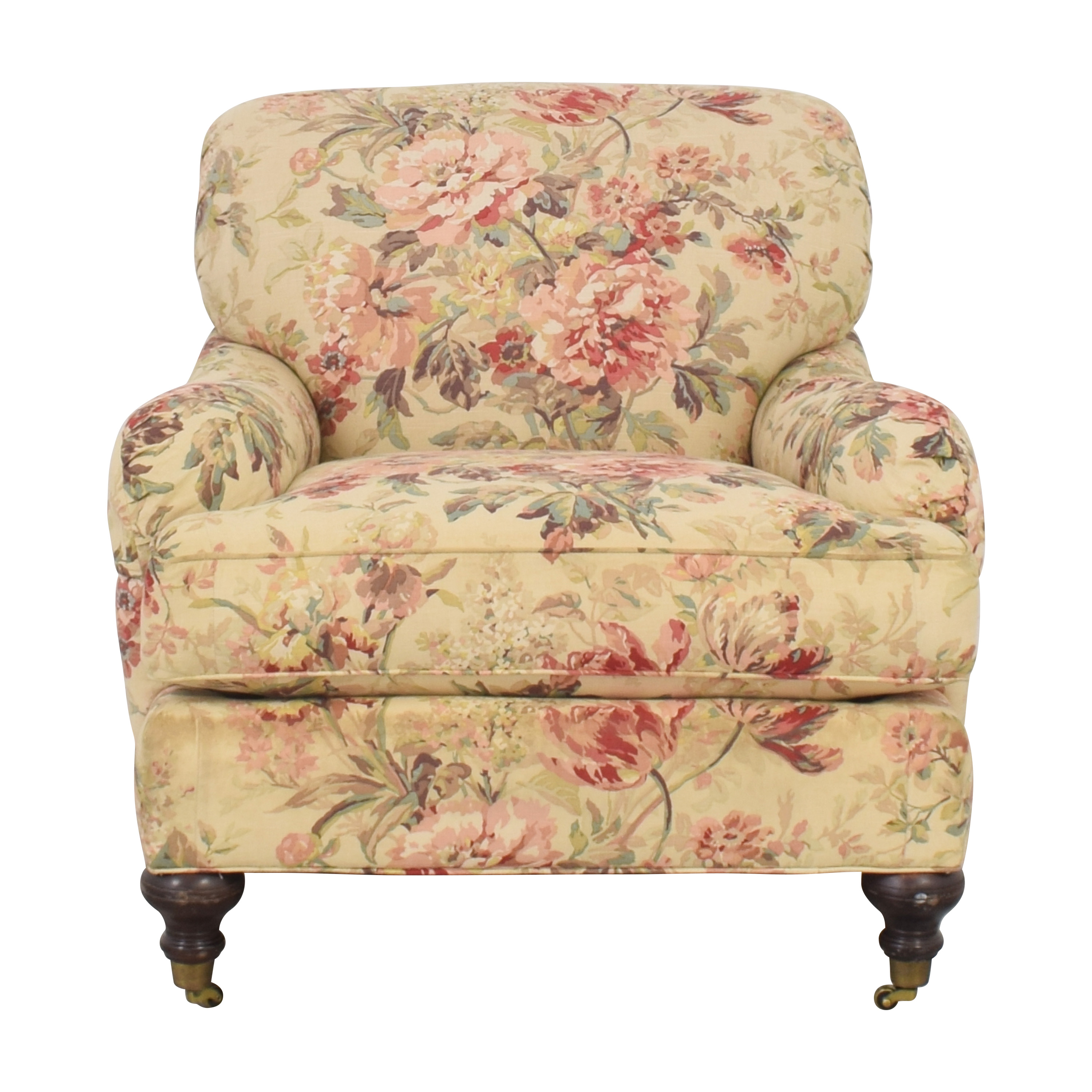 William Alan William Alan Floral Accent Chair pa