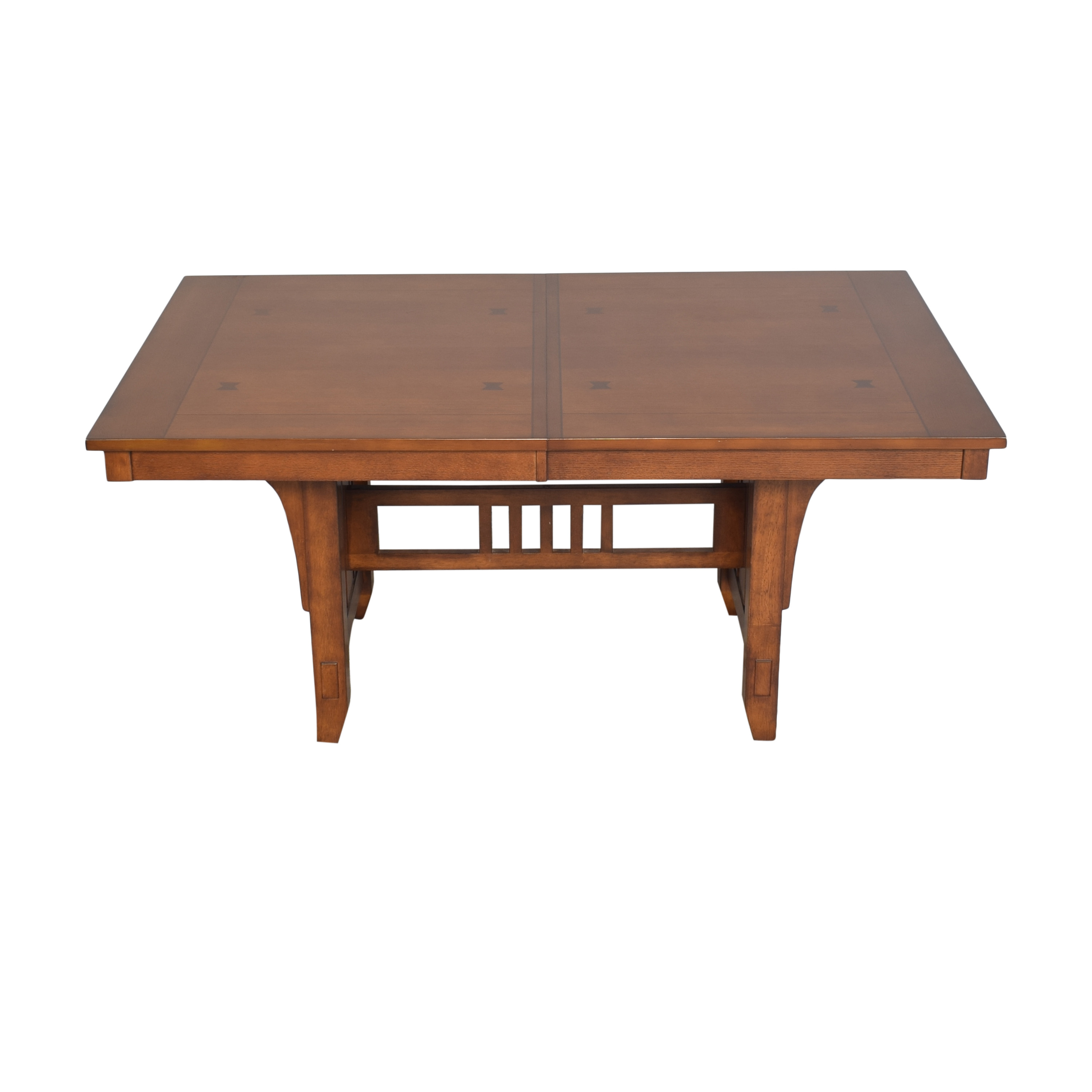 Green River Furniture Green River Mission Style Extendable Dining Table price