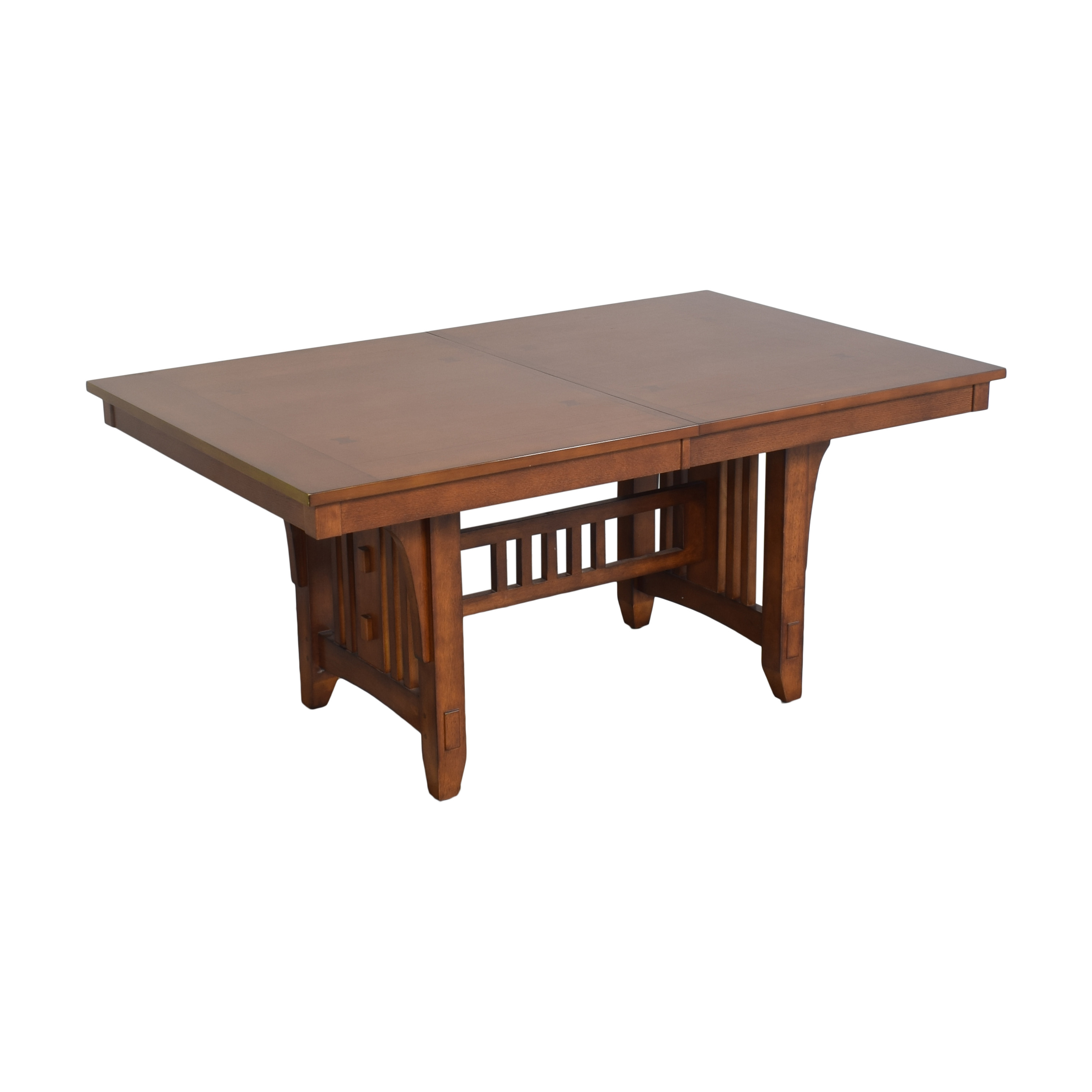 Green River Furniture Green River Mission Style Extendable Dining Table nyc