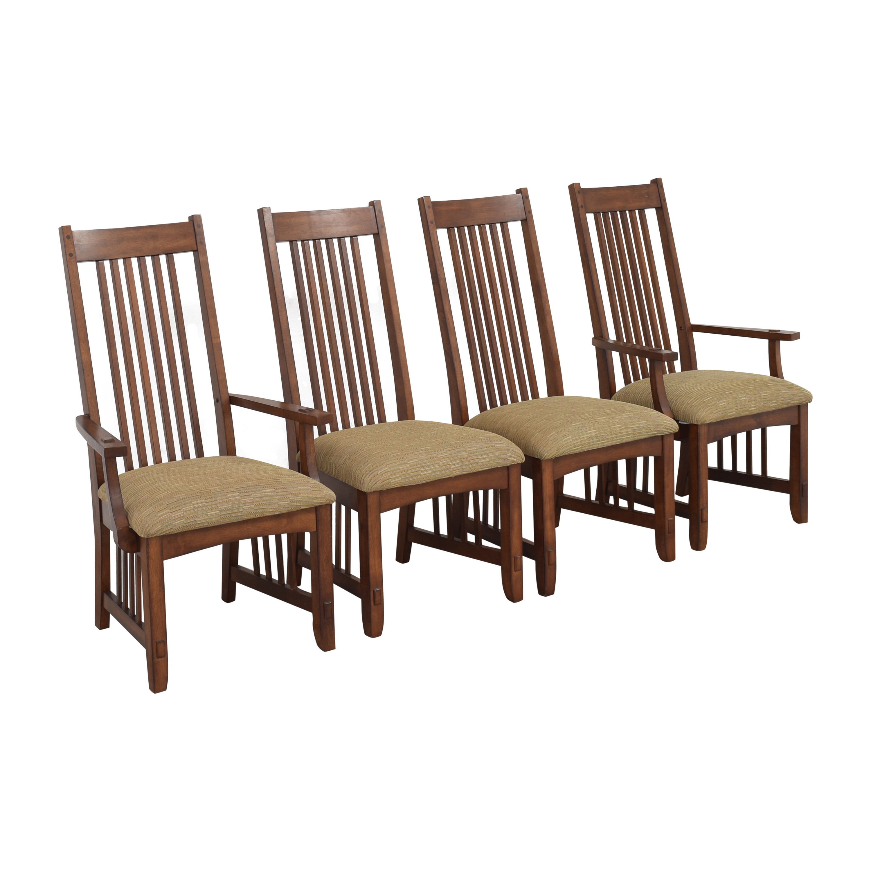 Green River Furniture Green River Mission Style Dining Chairs pa