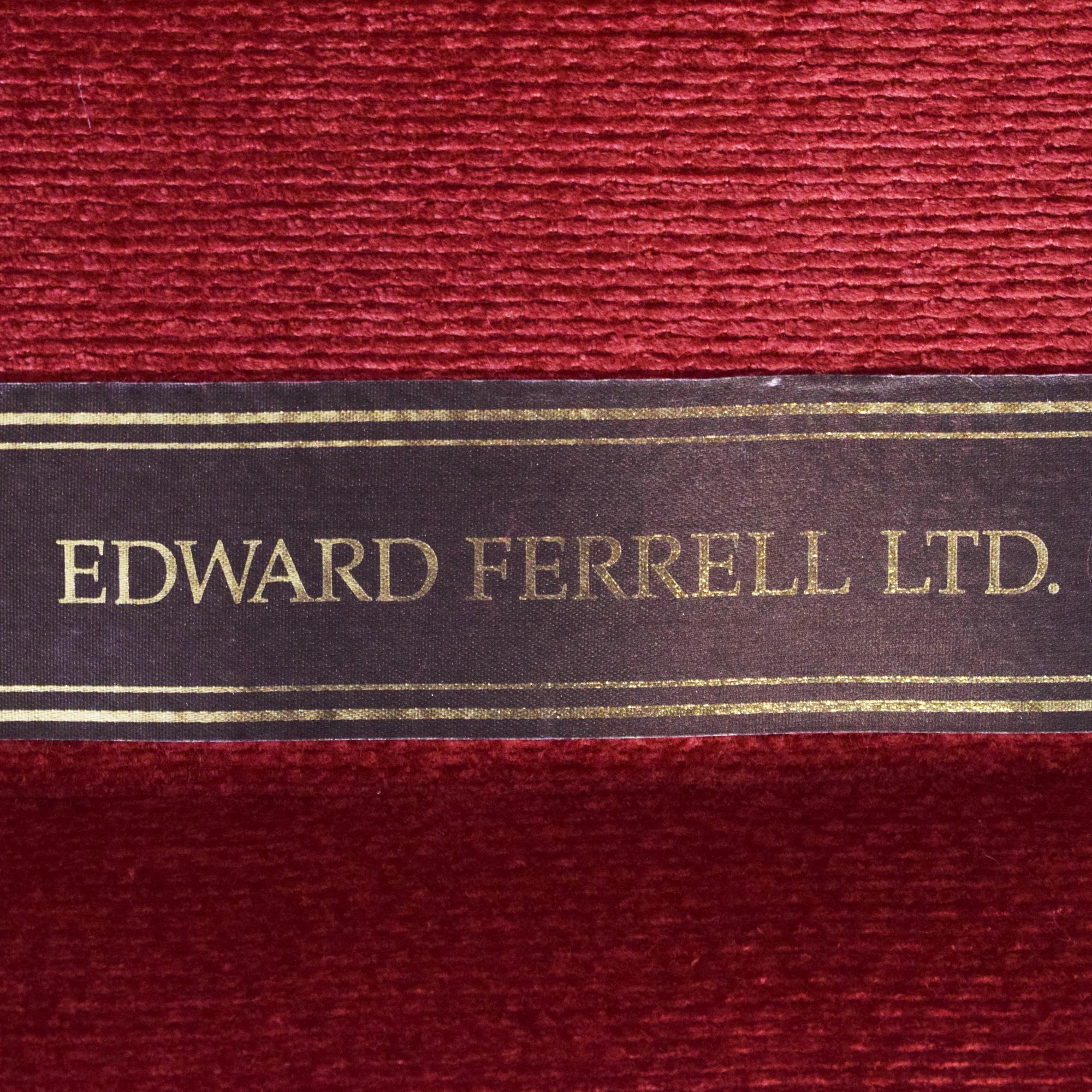 Ferrell Mittman Edward Ferrell Loveseat and Ottoman used