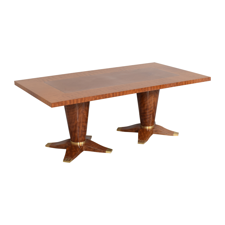 Evanson Studios Evanson Studios Art Deco Dining Table Dinner Tables