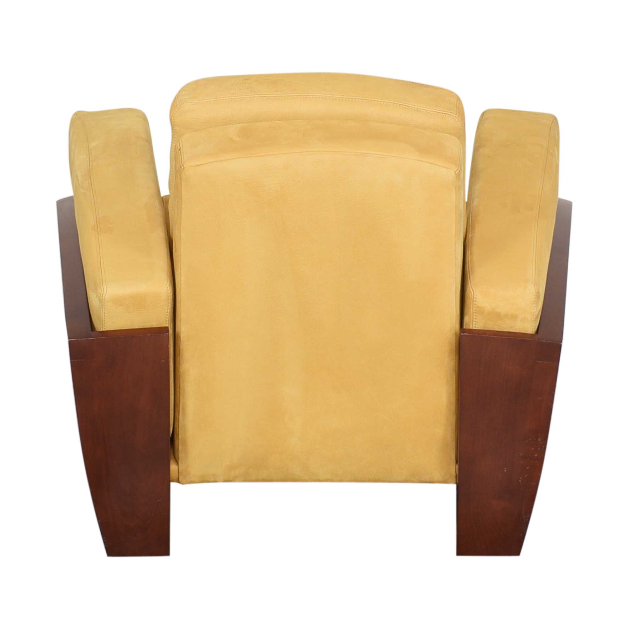 87 Off Art Deco Style Club Chair And Ottoman Chairs
