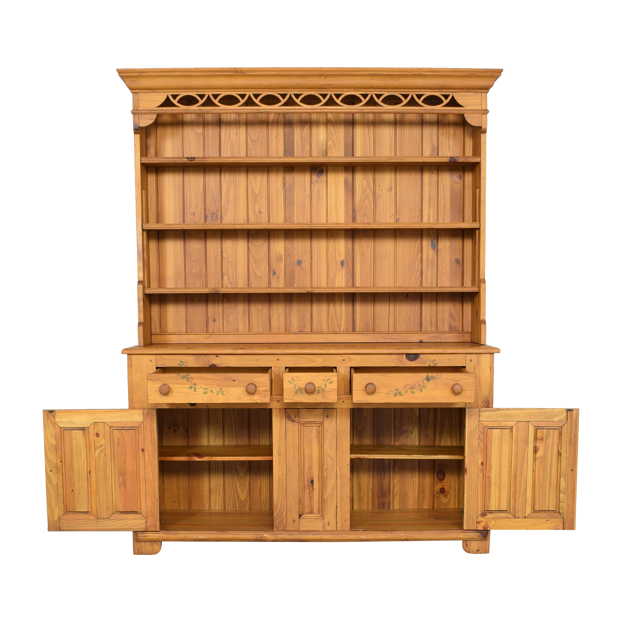 shop Ethan Allen Hutch with Cabinets Ethan Allen Cabinets & Sideboards
