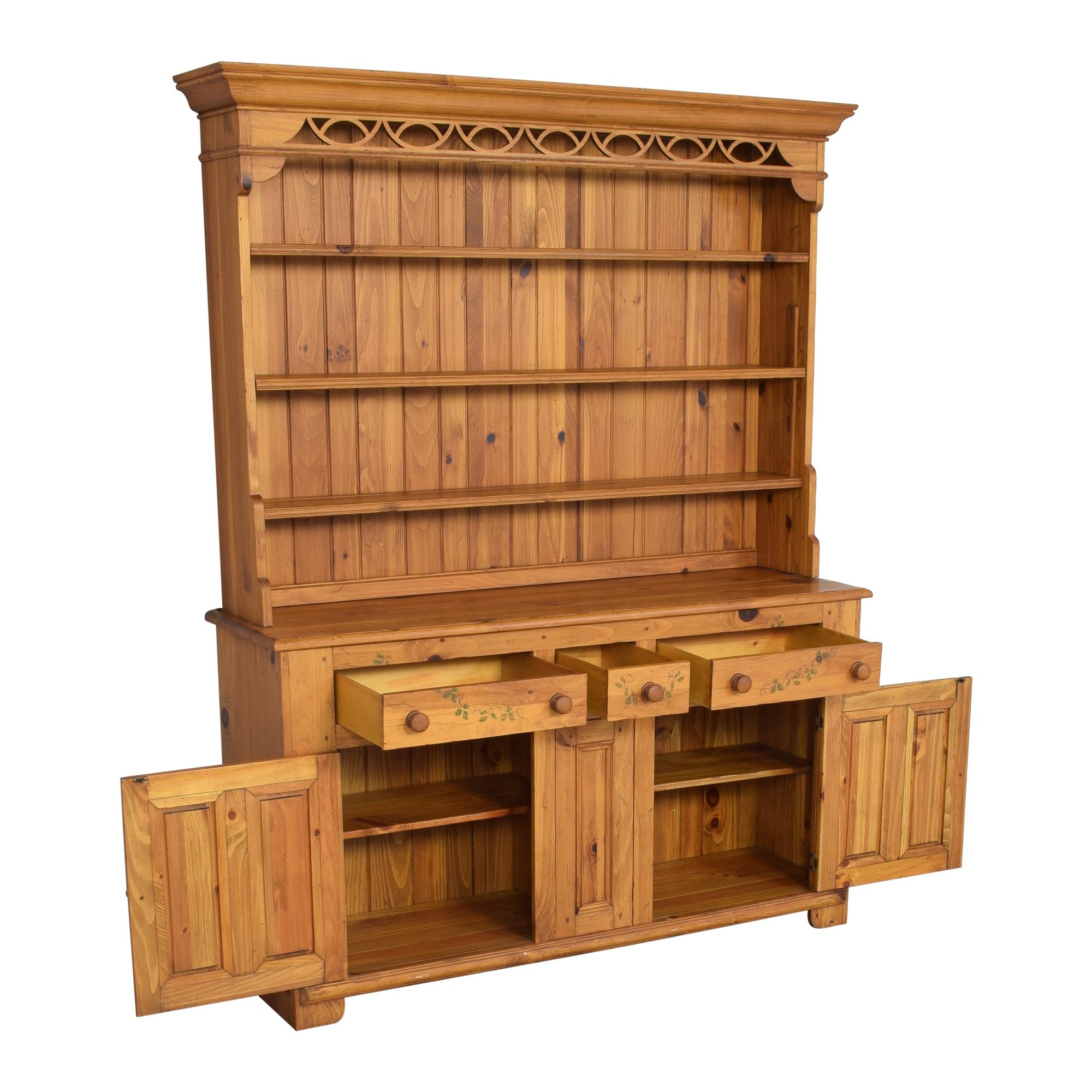Ethan Allen Ethan Allen Hutch with Cabinets Storage