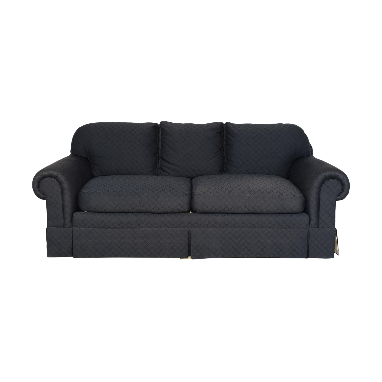 shop Alexandria Classic Furniture for Bloomingdale's Skirted Sofa Bloomingdale's Sofas