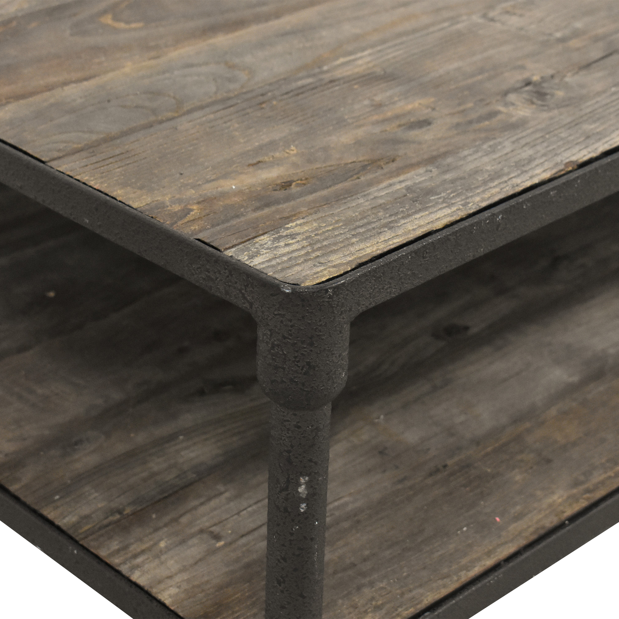 buy Restoration Hardware Dutch Industrial Coffee Table Restoration Hardware