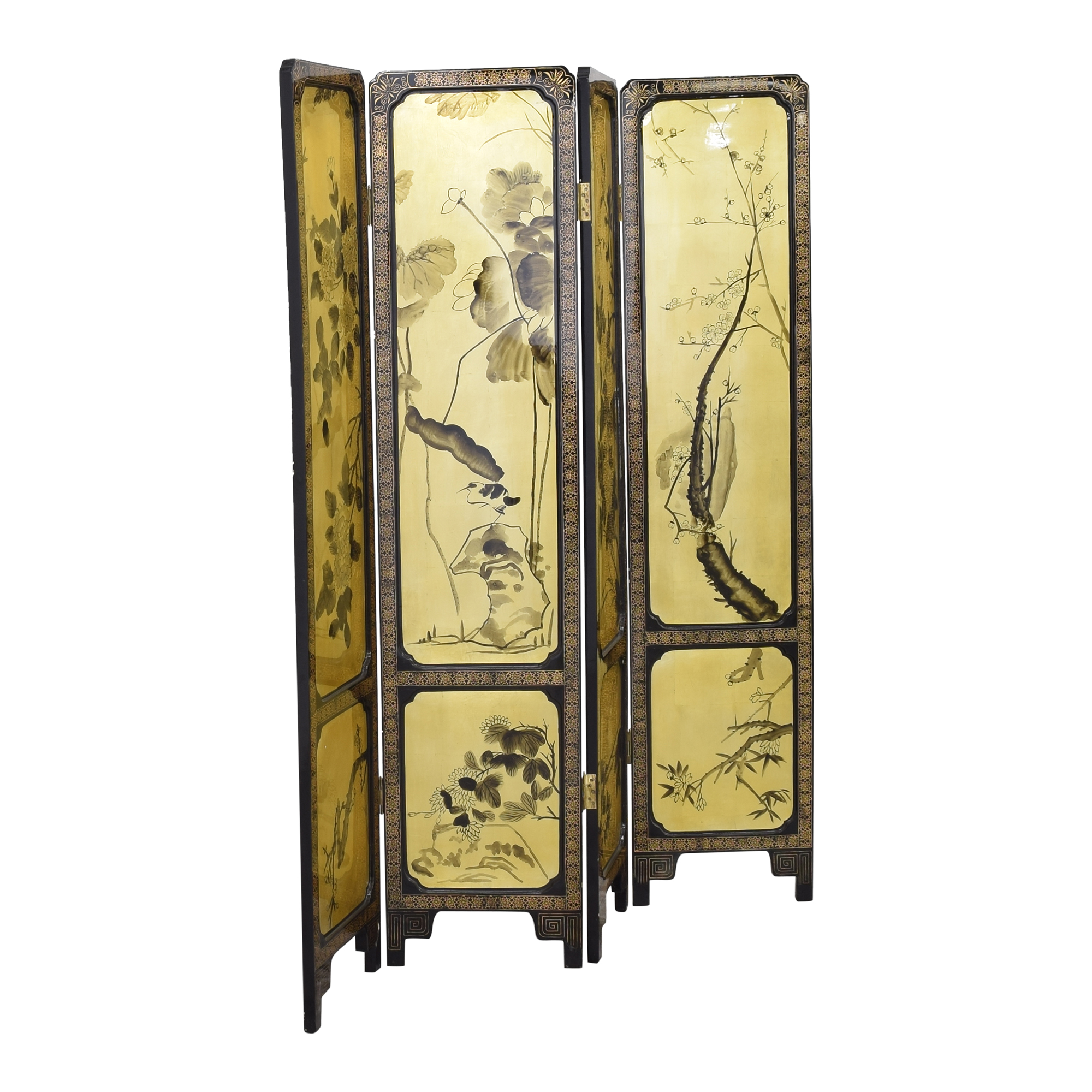 Four Panel Room Divider / Dividers
