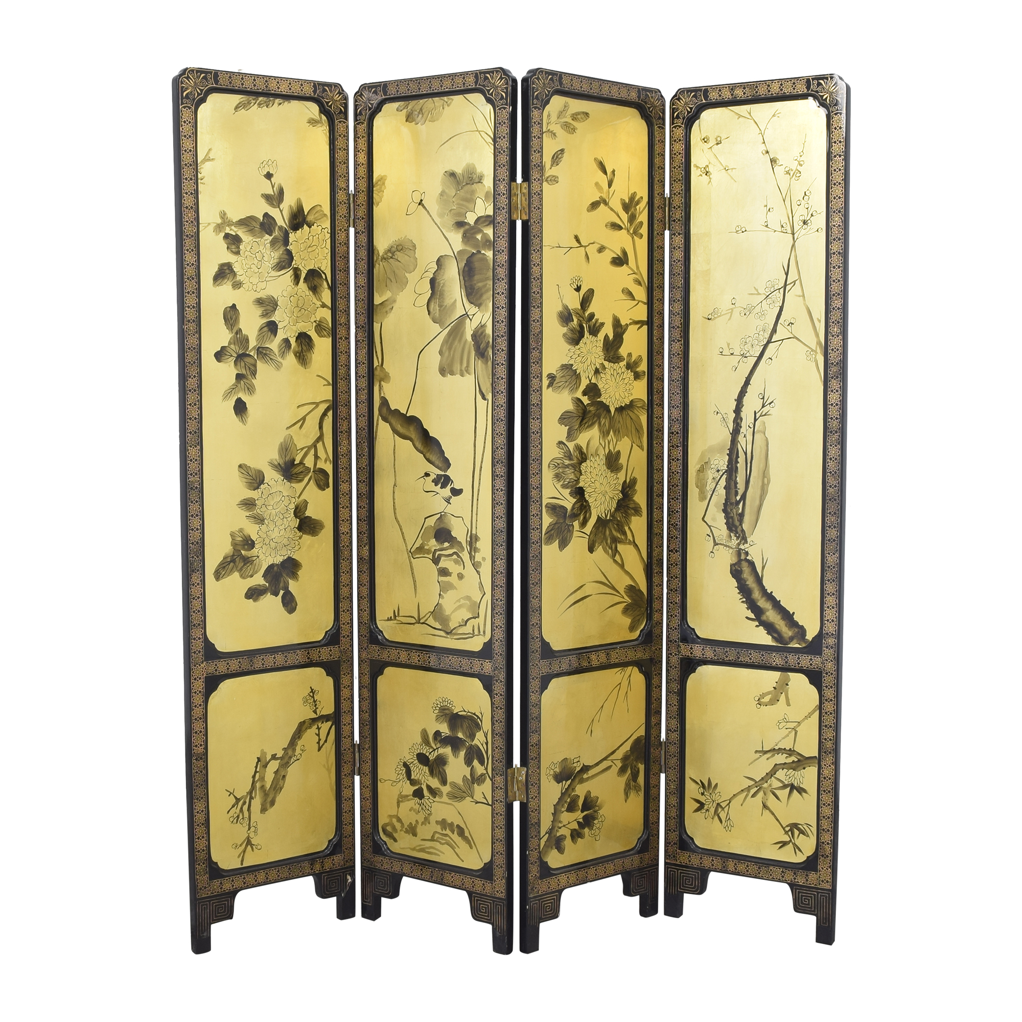 Four Panel Room Divider ma