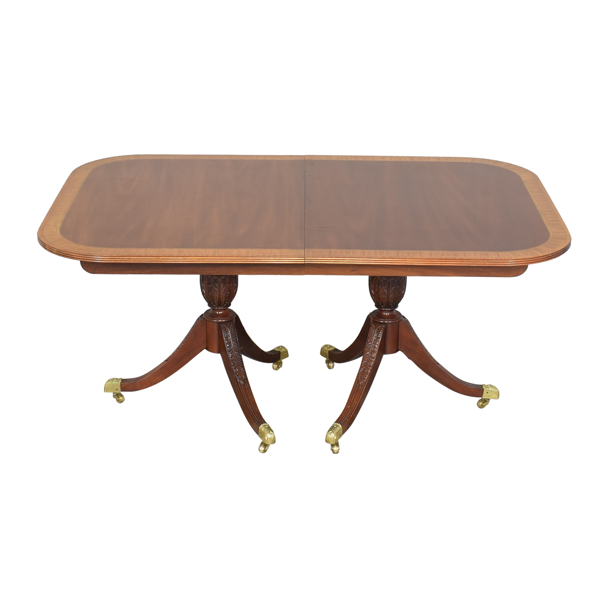 Councill Councill Craftsman Georgian Banded Extendable Dining Table coupon
