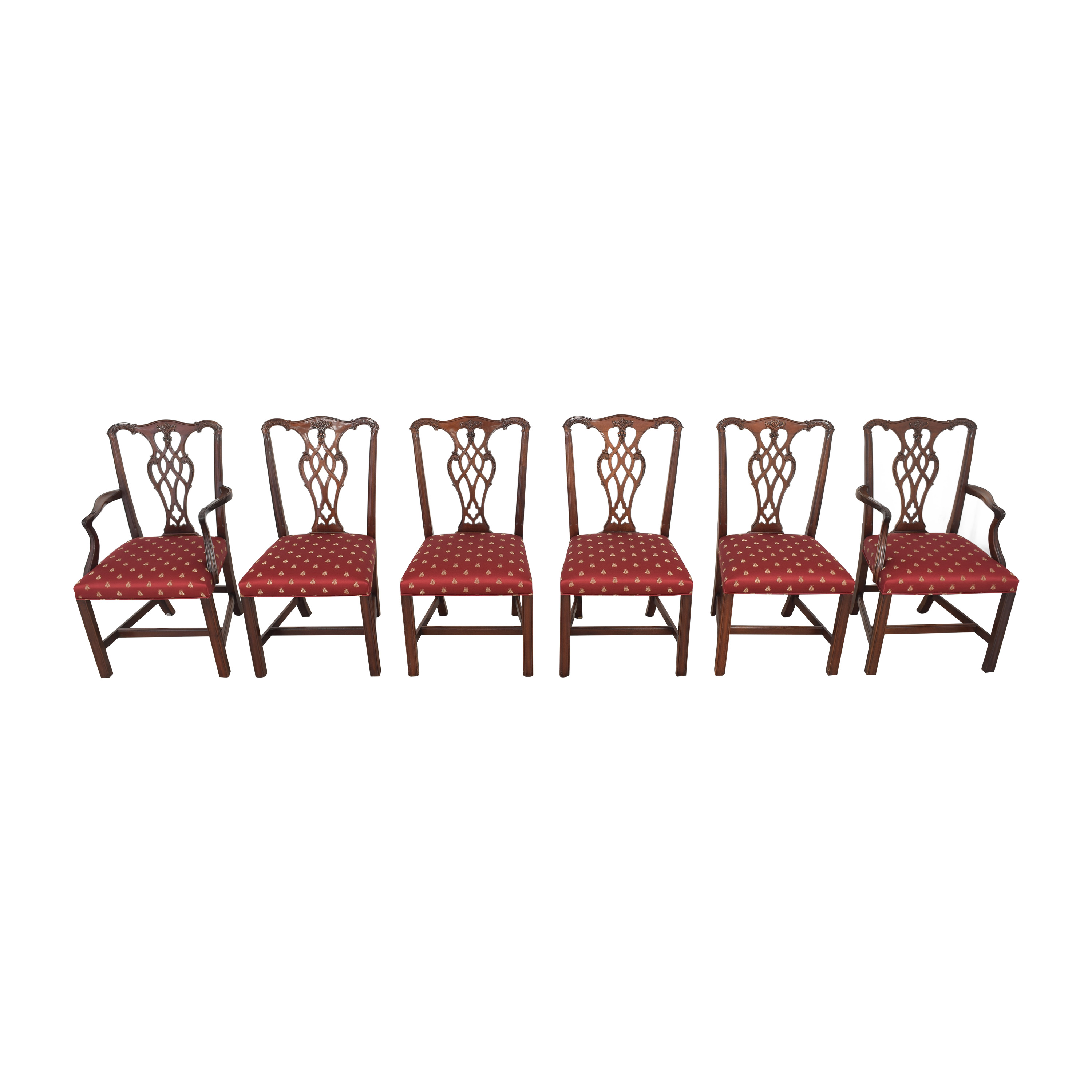 Councill Councill Chippendale Style Dining Chairs nyc