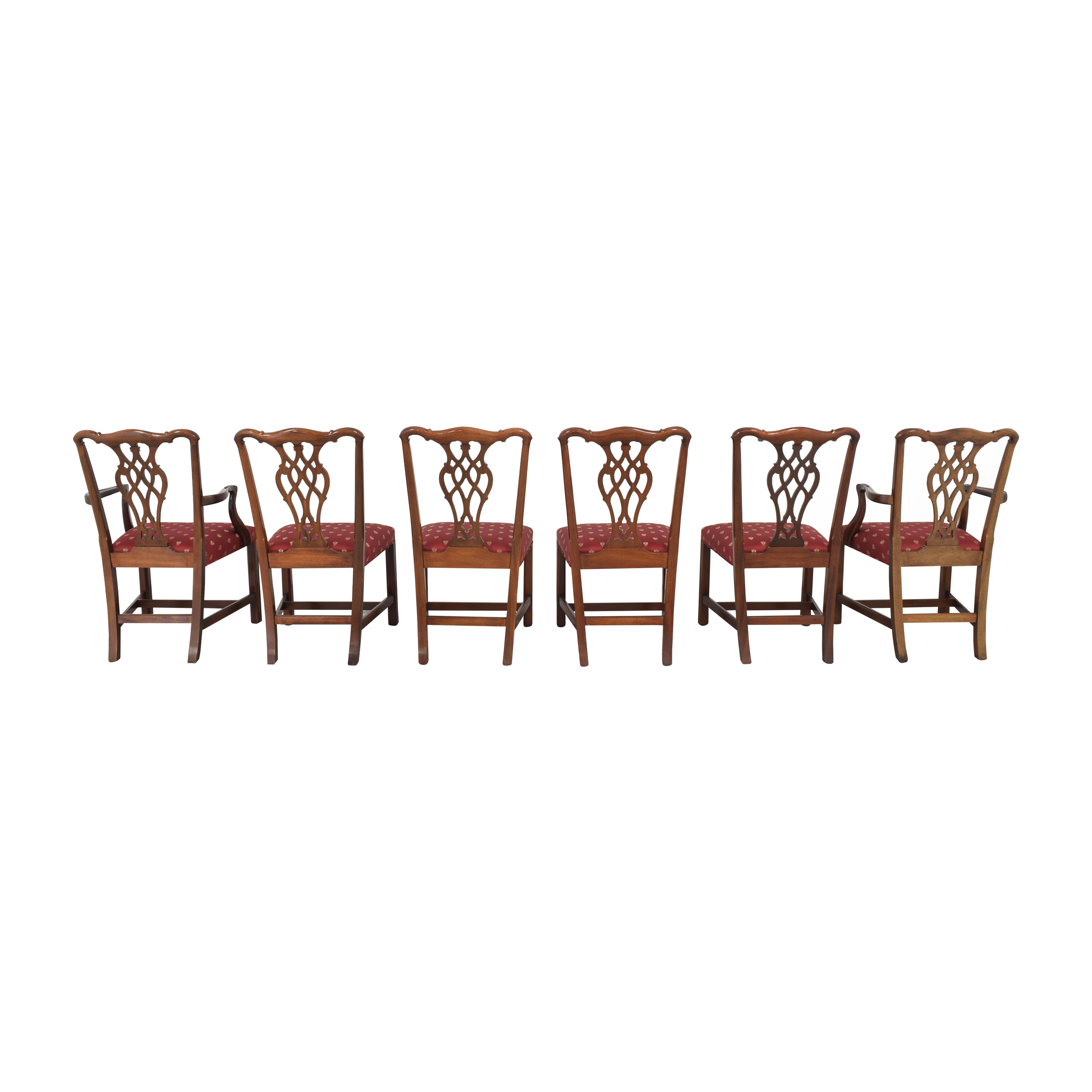 Councill Councill Chippendale Style Dining Chairs nj