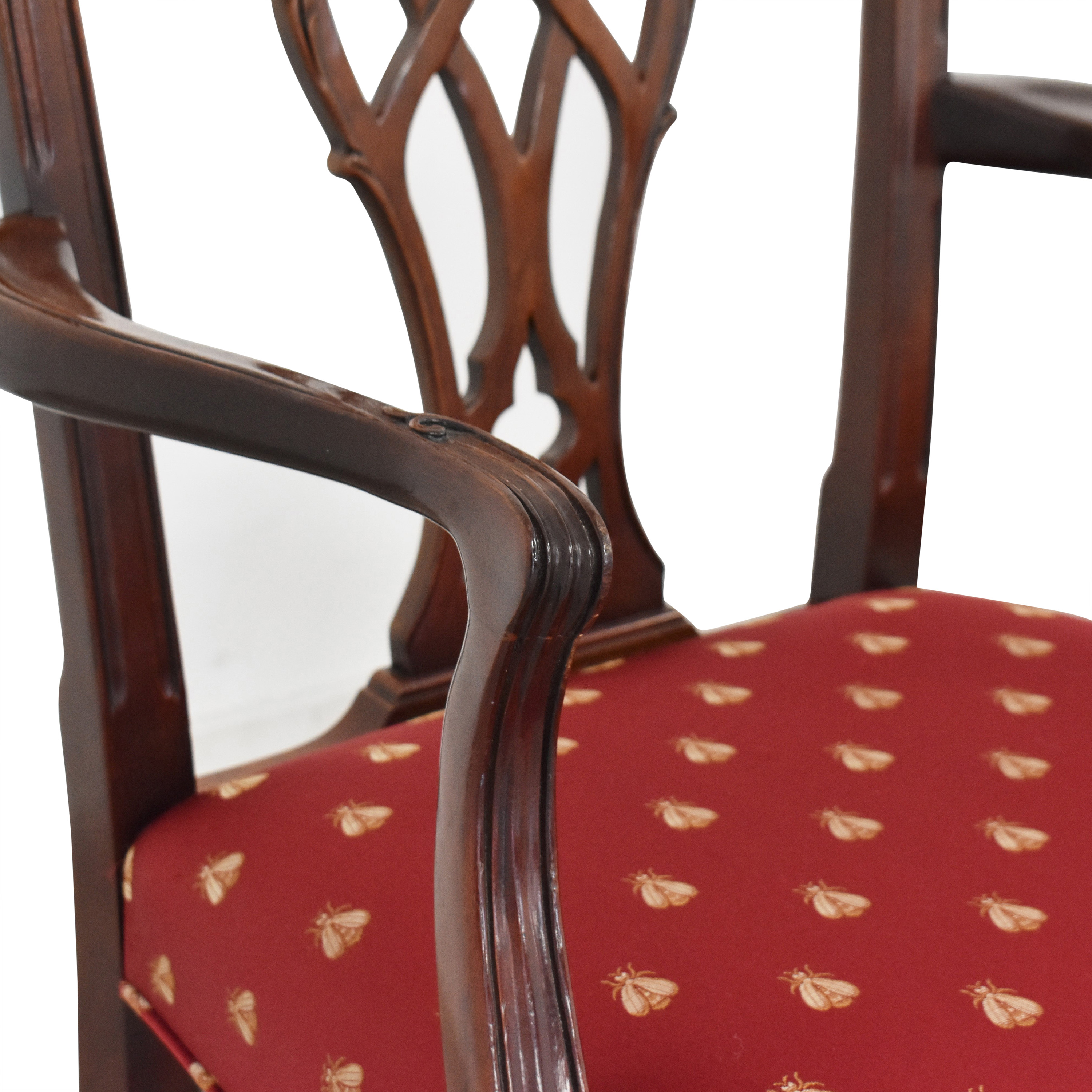 Councill Councill Chippendale Style Dining Chairs second hand
