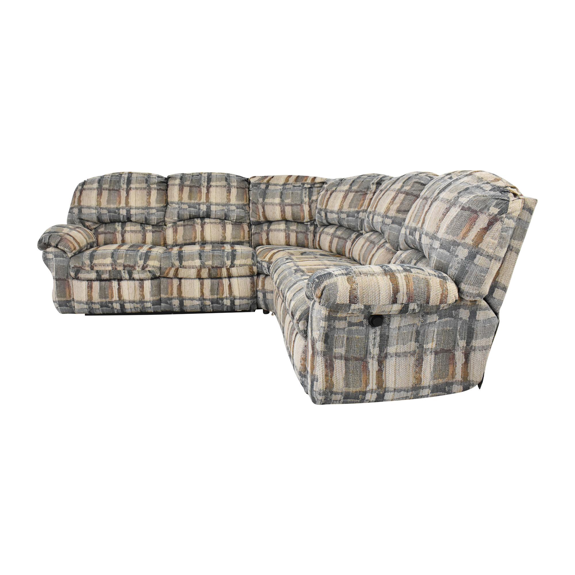 Berkline Berkline Crescent Sectional Sofa with Recliners price
