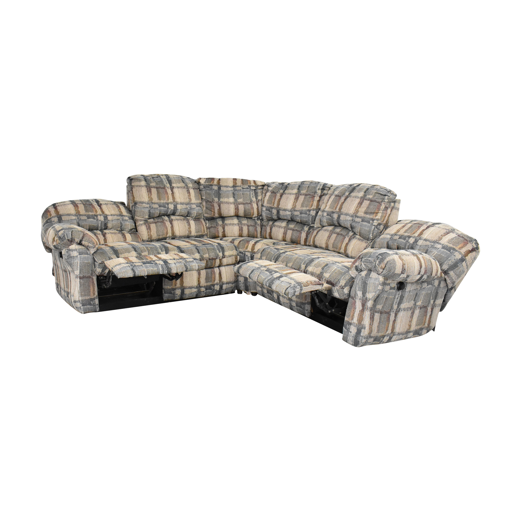 Berkline Berkline Crescent Sectional Sofa with Recliners price
