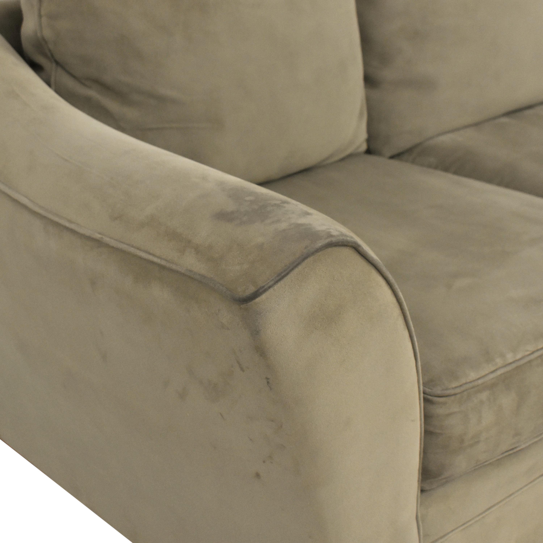 Raymour & Flanigan Three Cushion Sofa sale
