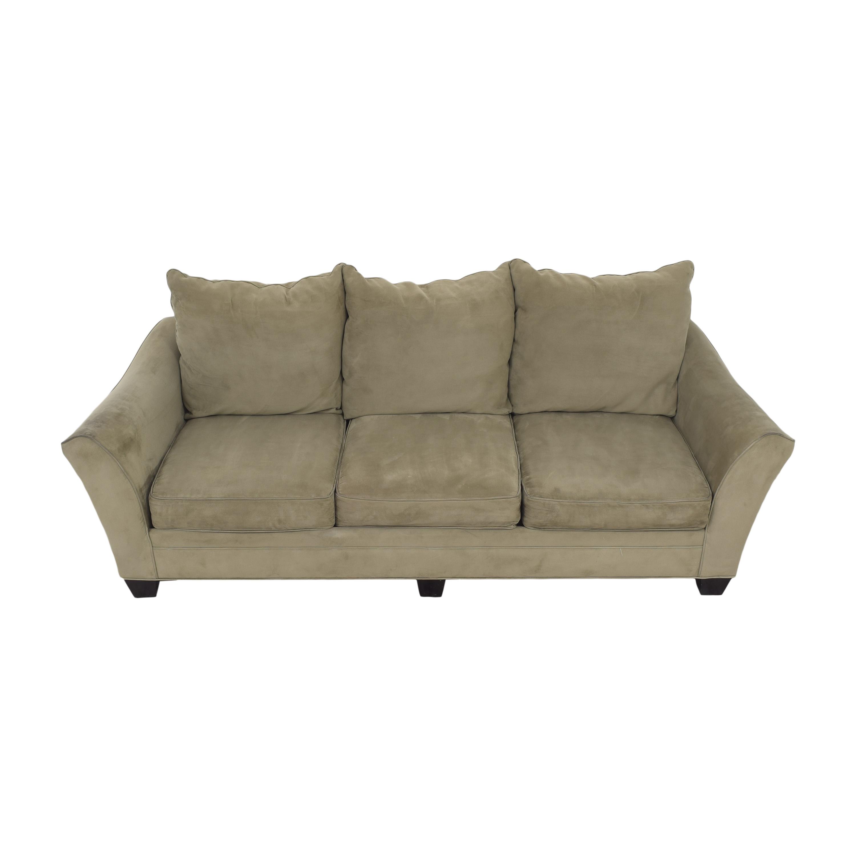 shop Raymour & Flanigan Raymour & Flanigan Three Cushion Sofa online