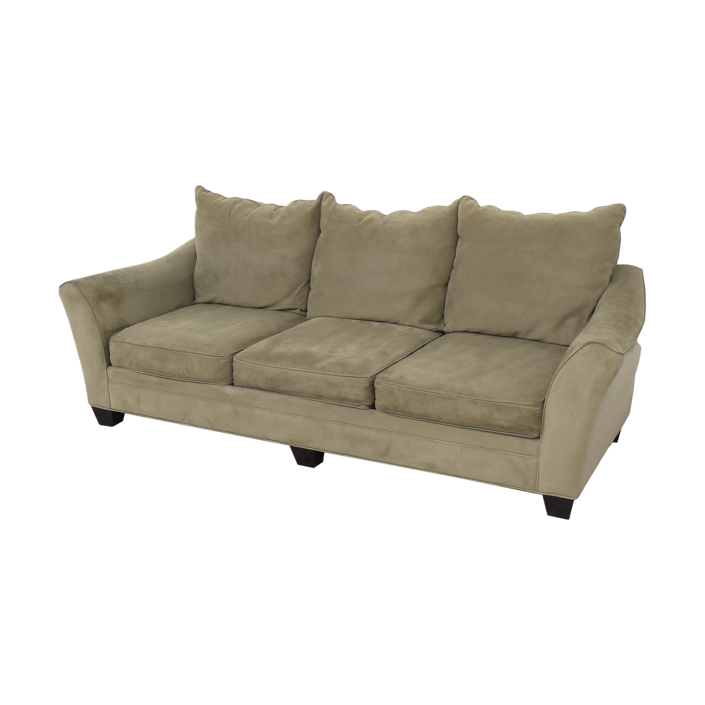 Raymour & Flanigan Raymour & Flanigan Three Cushion Sofa ma