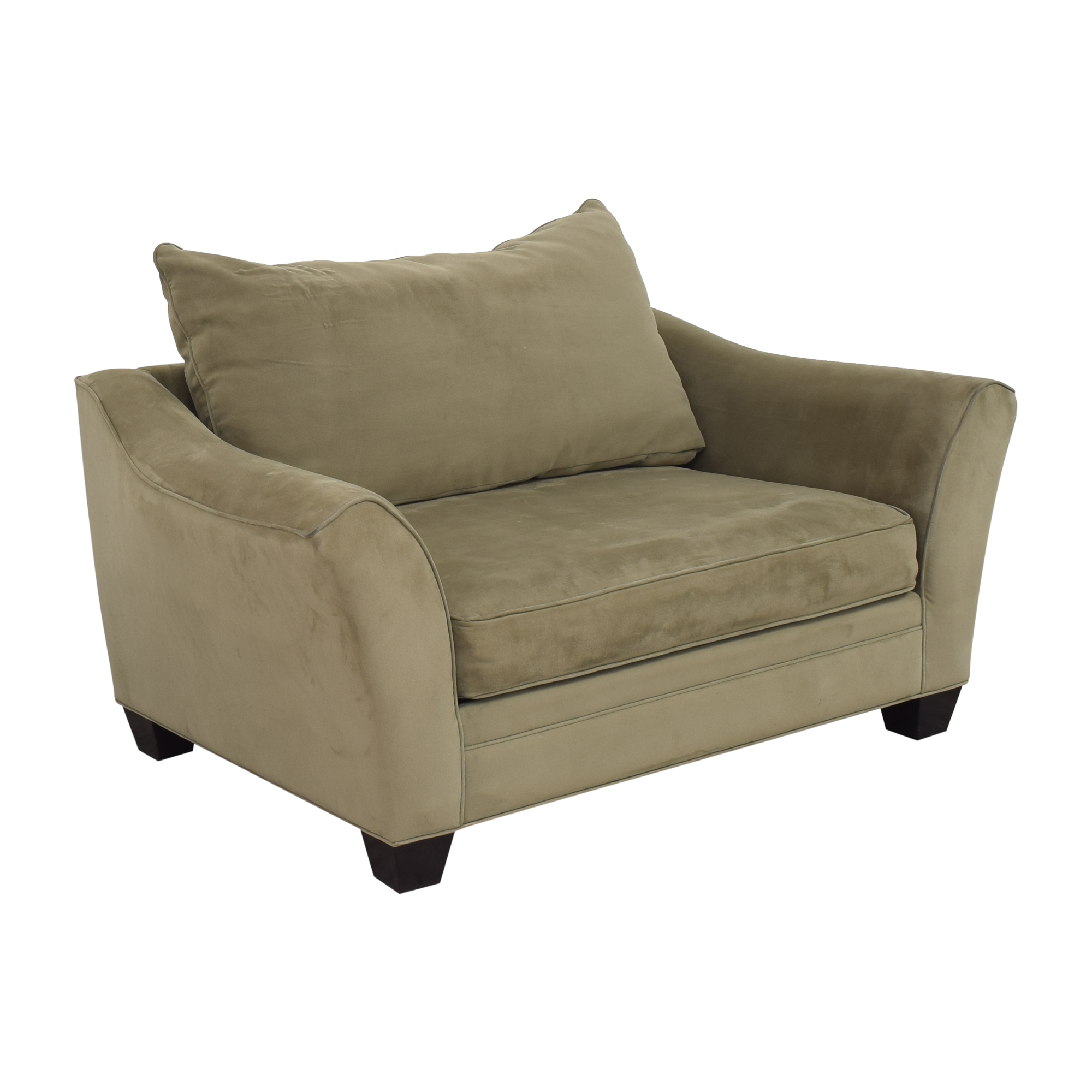 Raymour & Flanigan Raymour & Flanigan Bench Cushion Loveseat discount