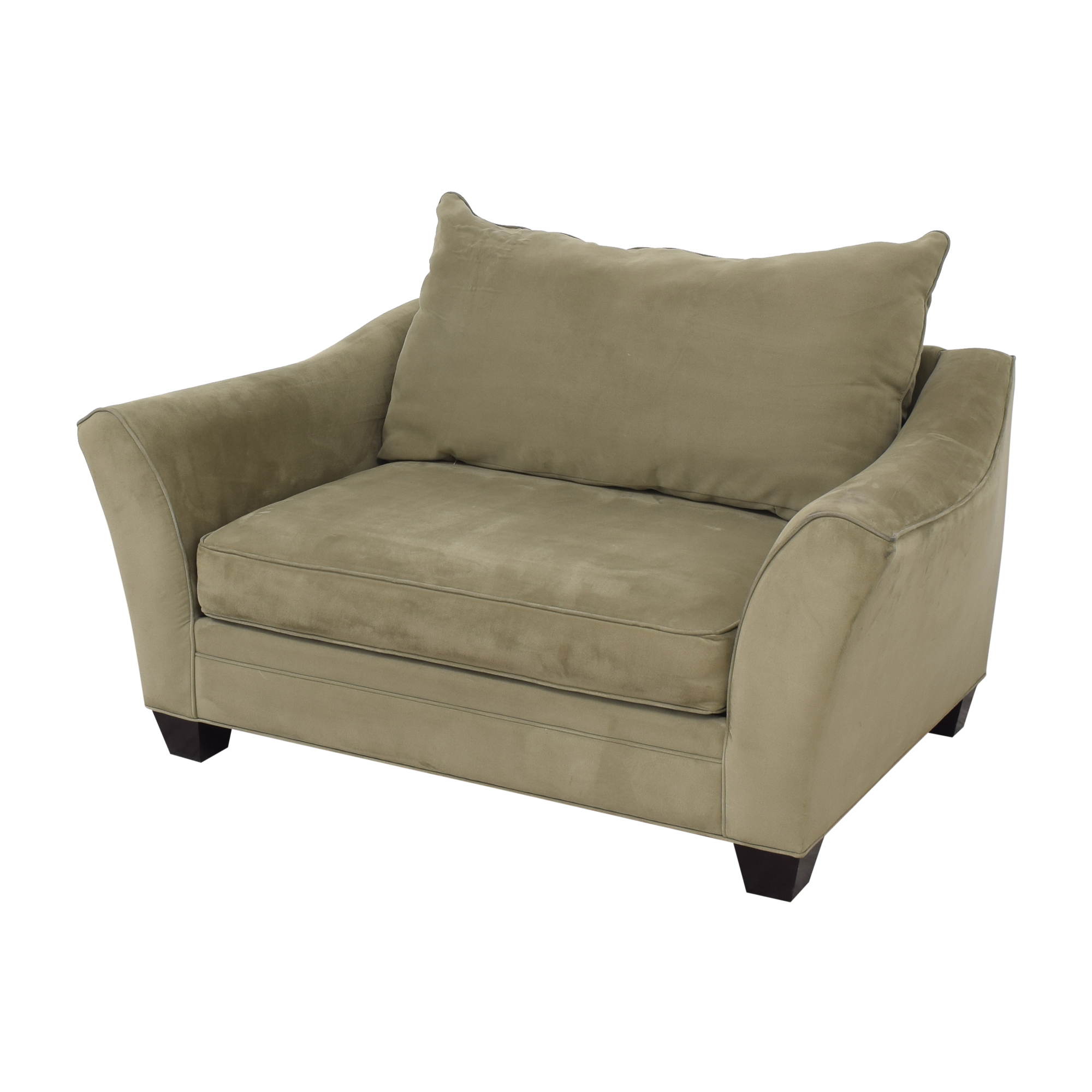 shop Raymour & Flanigan Bench Cushion Loveseat Raymour & Flanigan Sofas