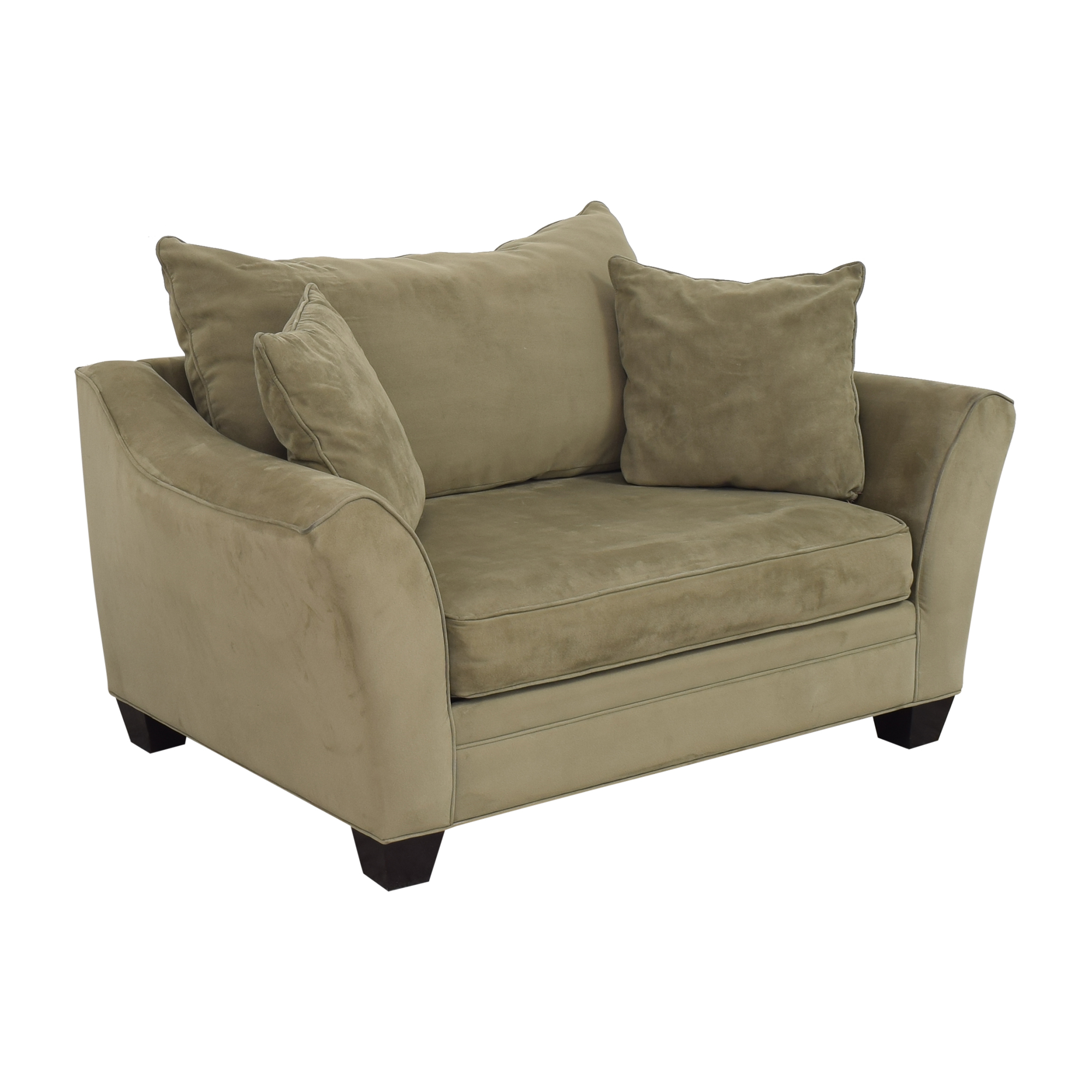 Raymour & Flanigan Raymour & Flanigan Bench Cushion Loveseat on sale