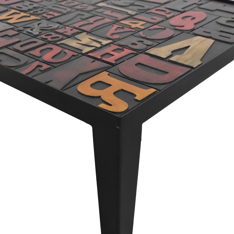 Crate & Barrel Crate & Barrel Alpha Coffee Table Tables